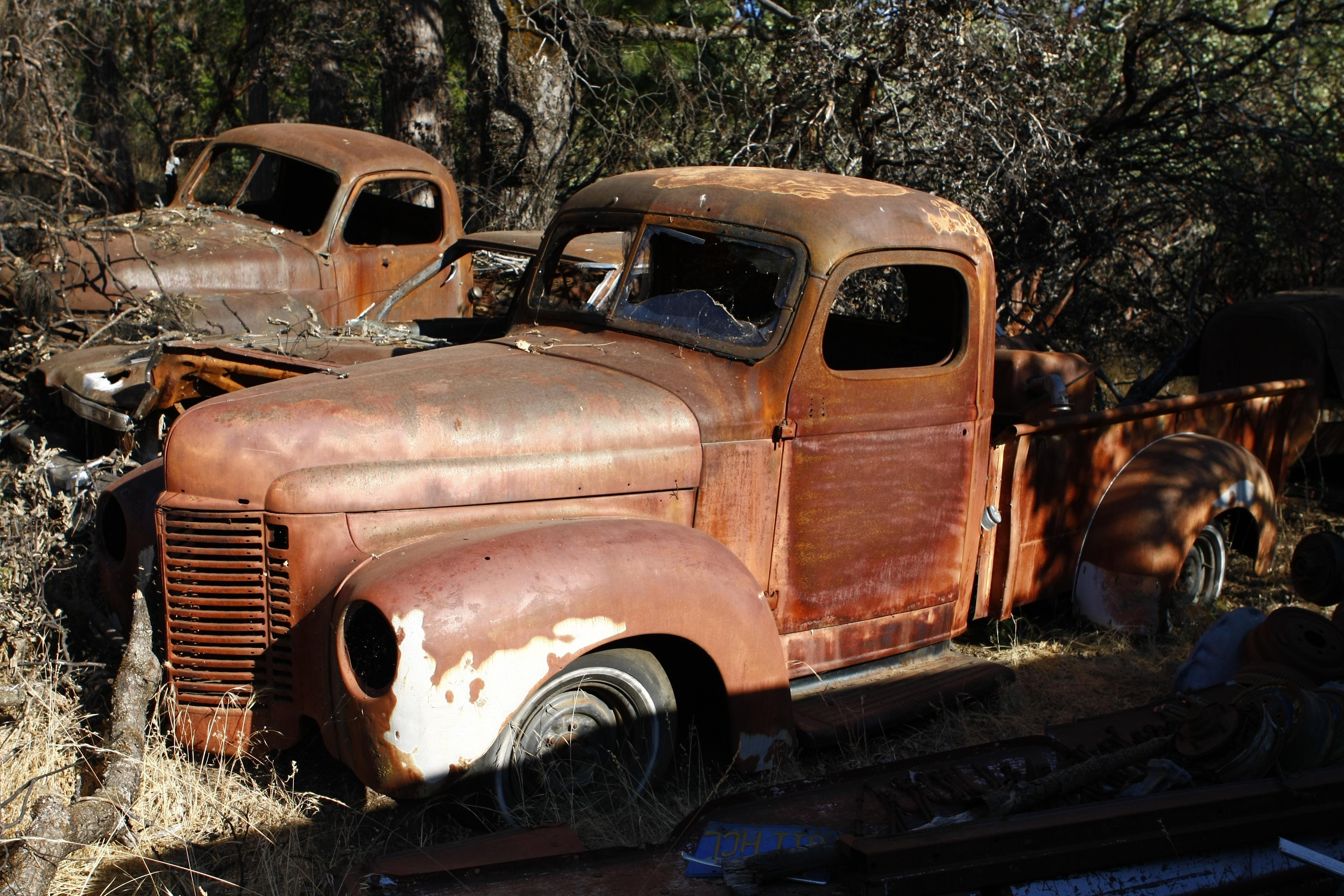 images gratuites vieux rouille un camion v hicule moteur voiture ancienne des voitures. Black Bedroom Furniture Sets. Home Design Ideas