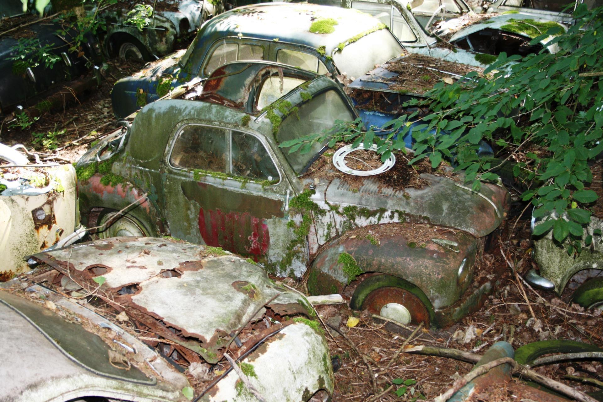 Fotoğraf Pas Araç Eski Araba Eski Zaman Otomobiller Hurda