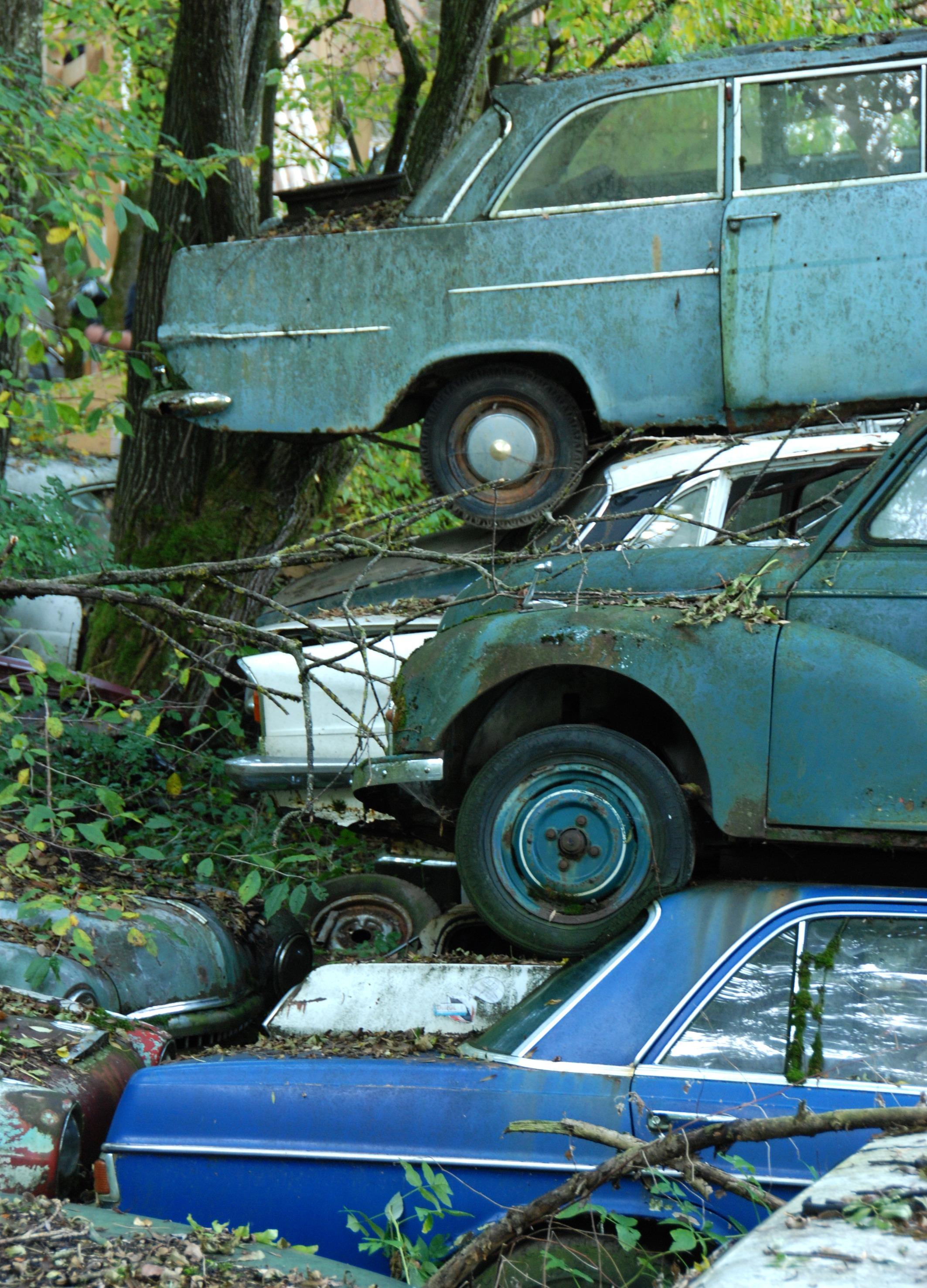 Fotoğraf Eski Araç Bellek Yıpranmış Eski Araba Tarih Bitti