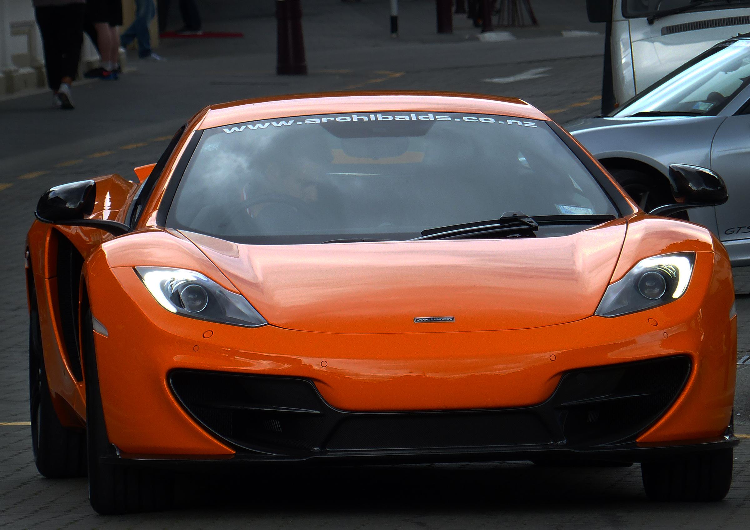 Free Images Orange Sports Car Supercar Cars Sportscars - Sports cars mclaren