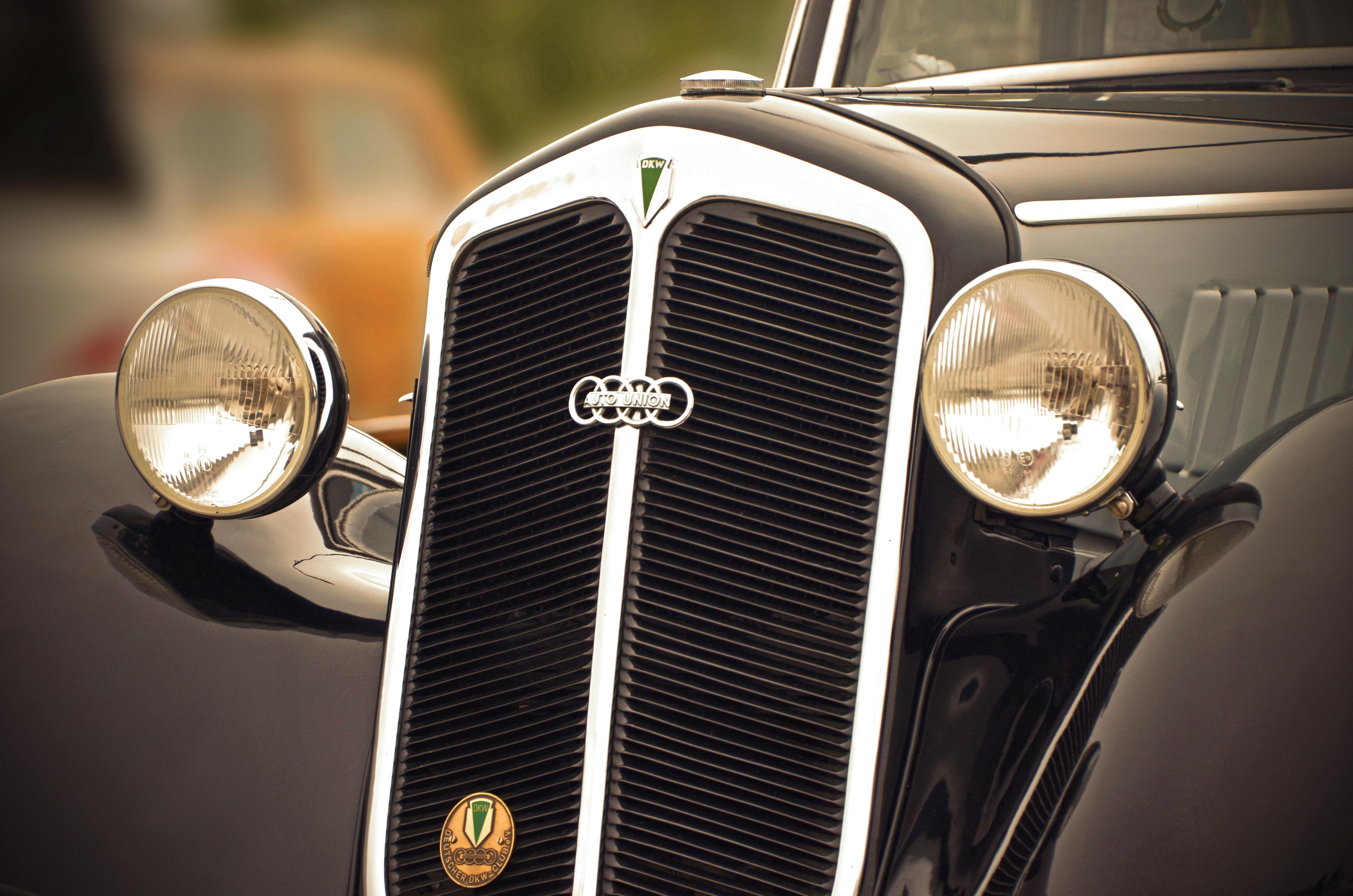 Free Images : retro, auto, old car, spotlight, motor vehicle ...