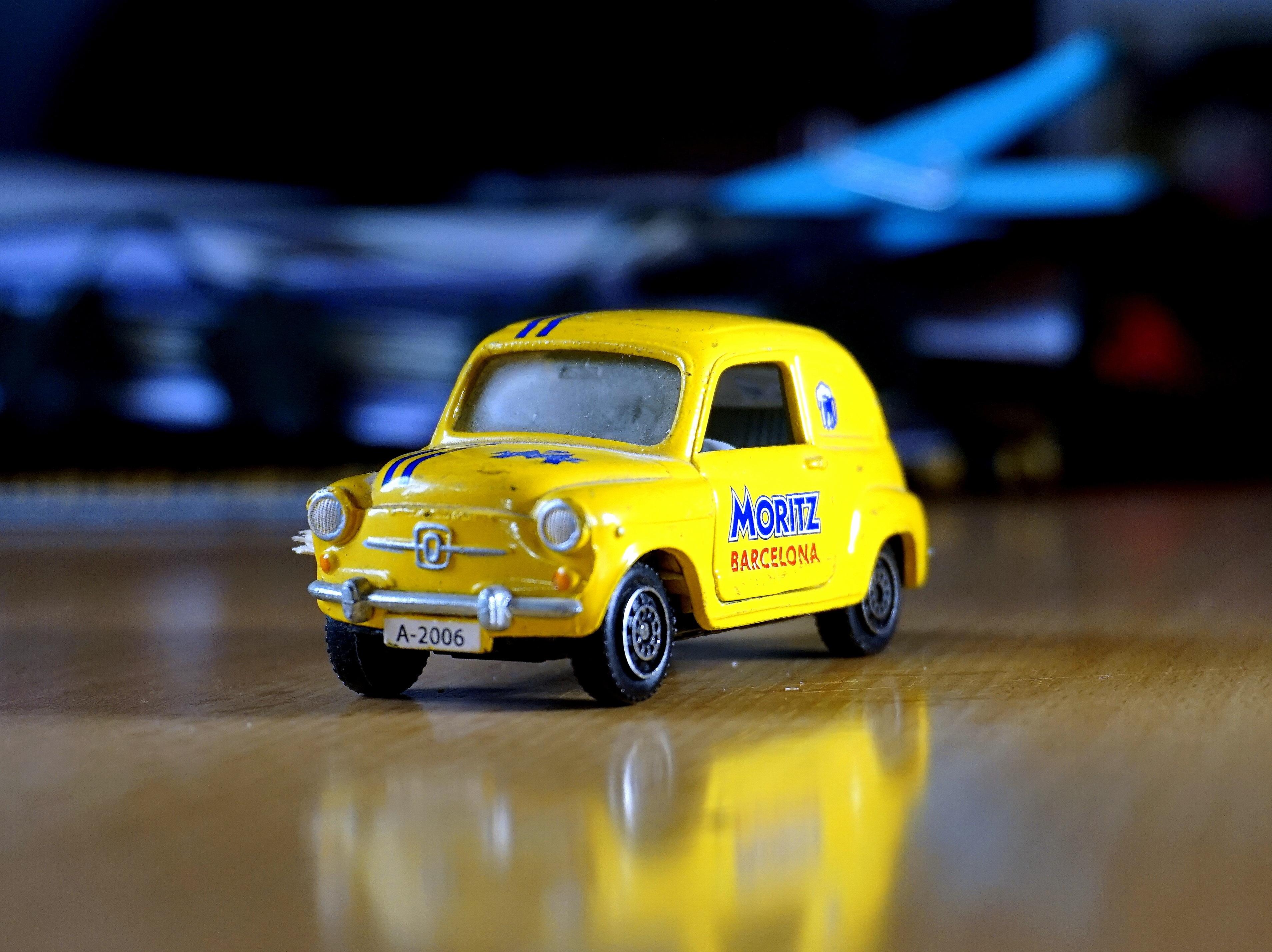 Free Images : retro, old, small, yellow, miniature, mini cooper ...