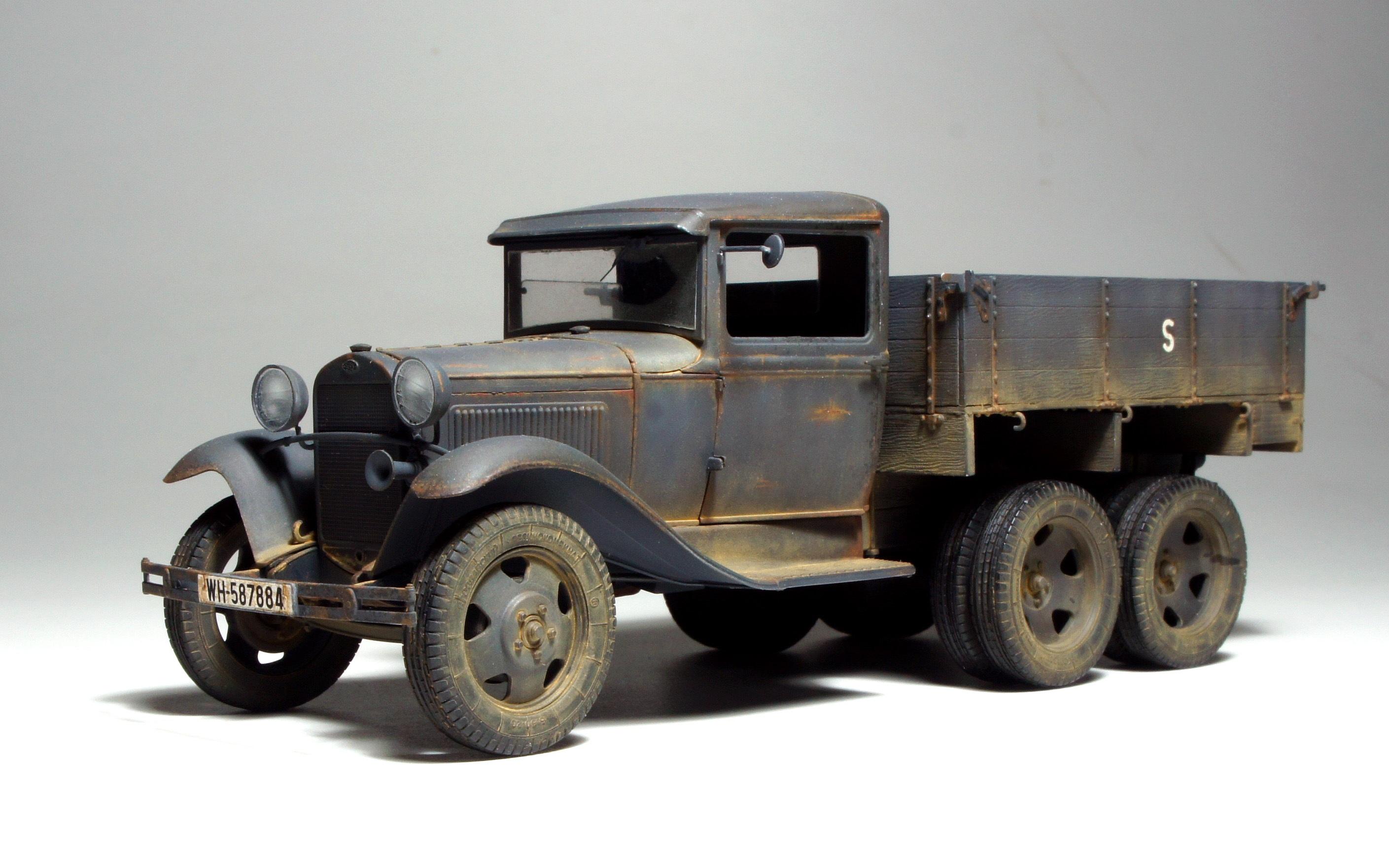 Free Images : retro, truck, vintage car, world war, model car ...