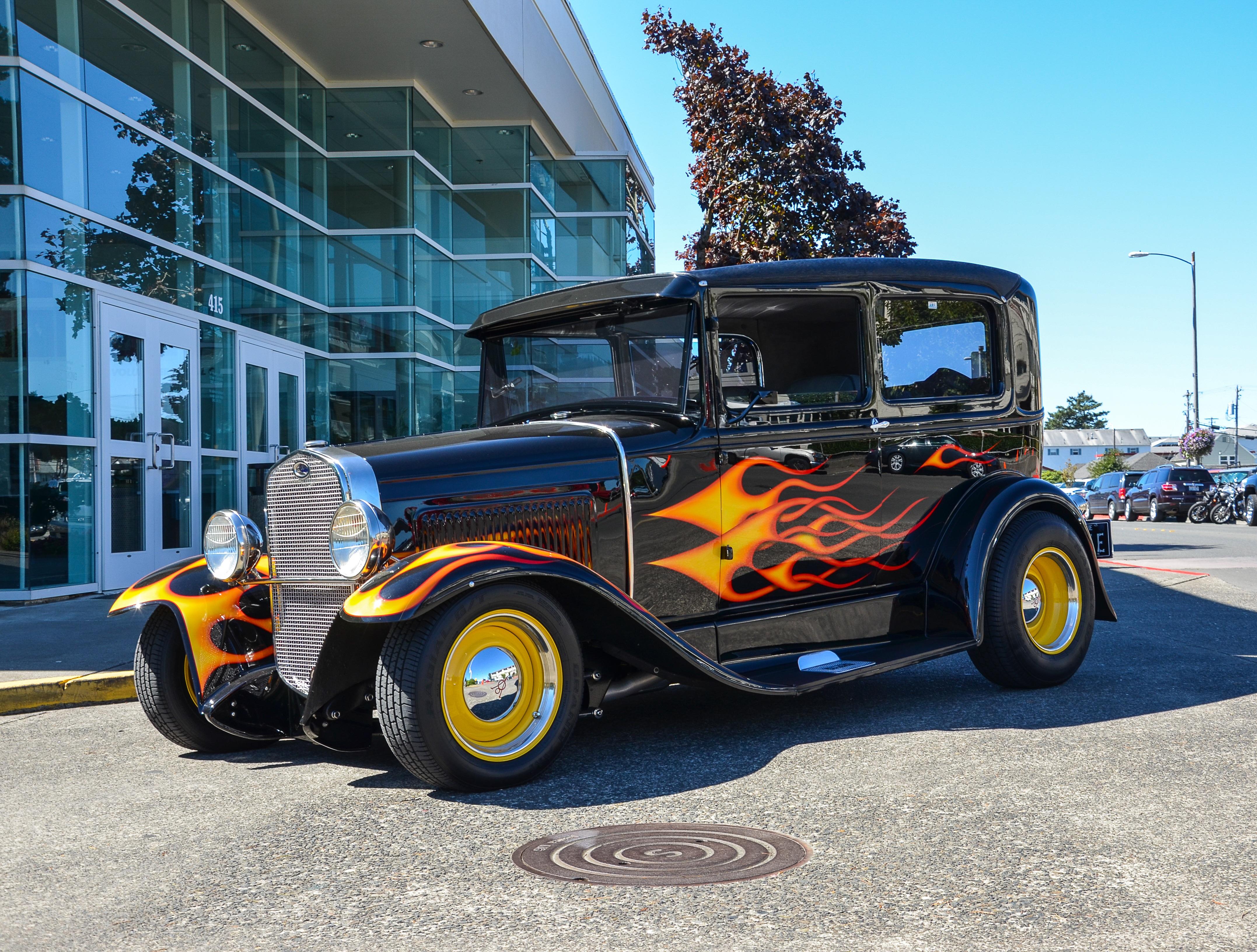 Free Images Seaside Usa America Old Car Automotive Motor - Seaside oregon car show