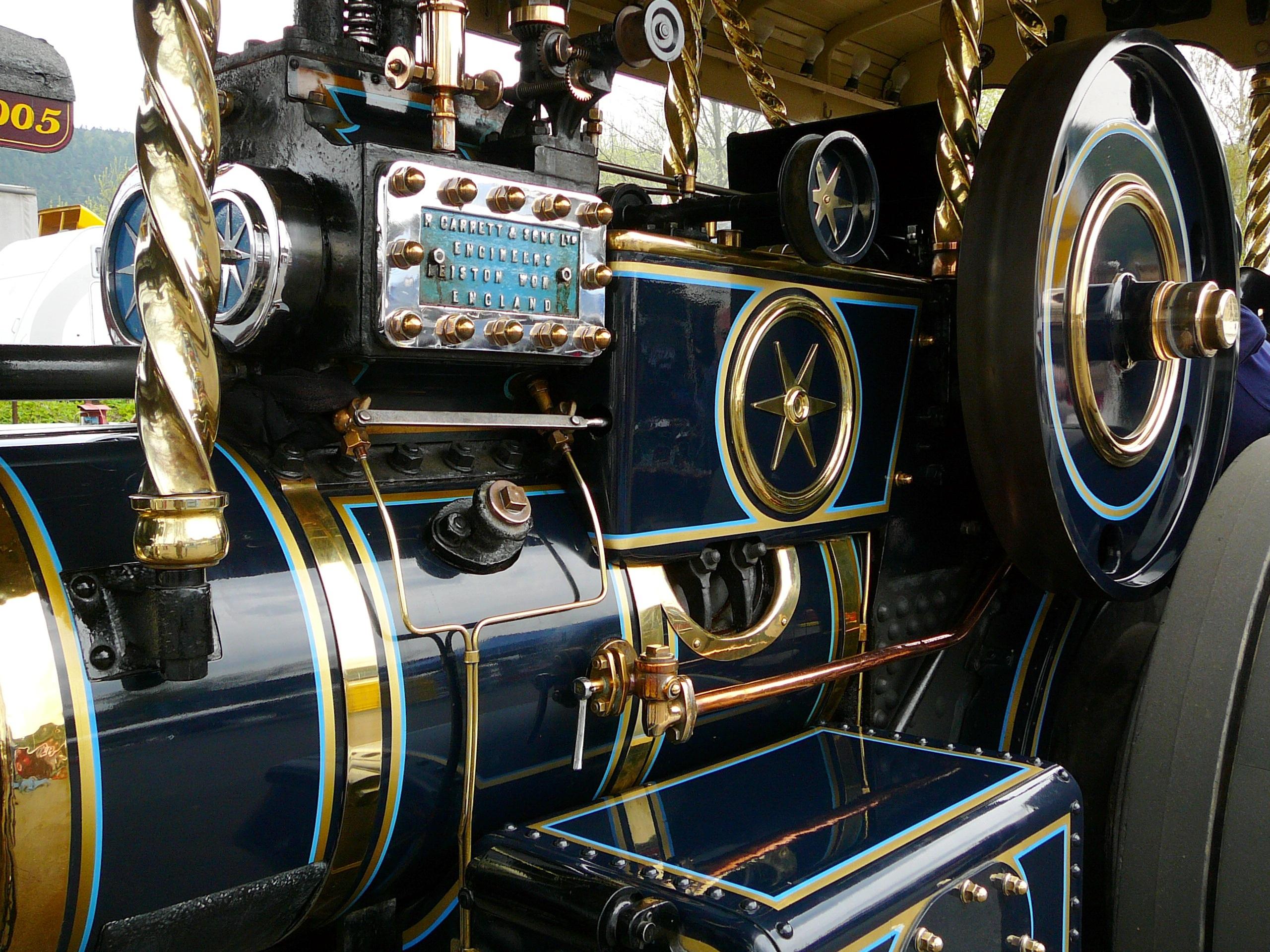 images gratuites tracteur roue vieux v hicule conduire voiture ancienne machine vapeur. Black Bedroom Furniture Sets. Home Design Ideas