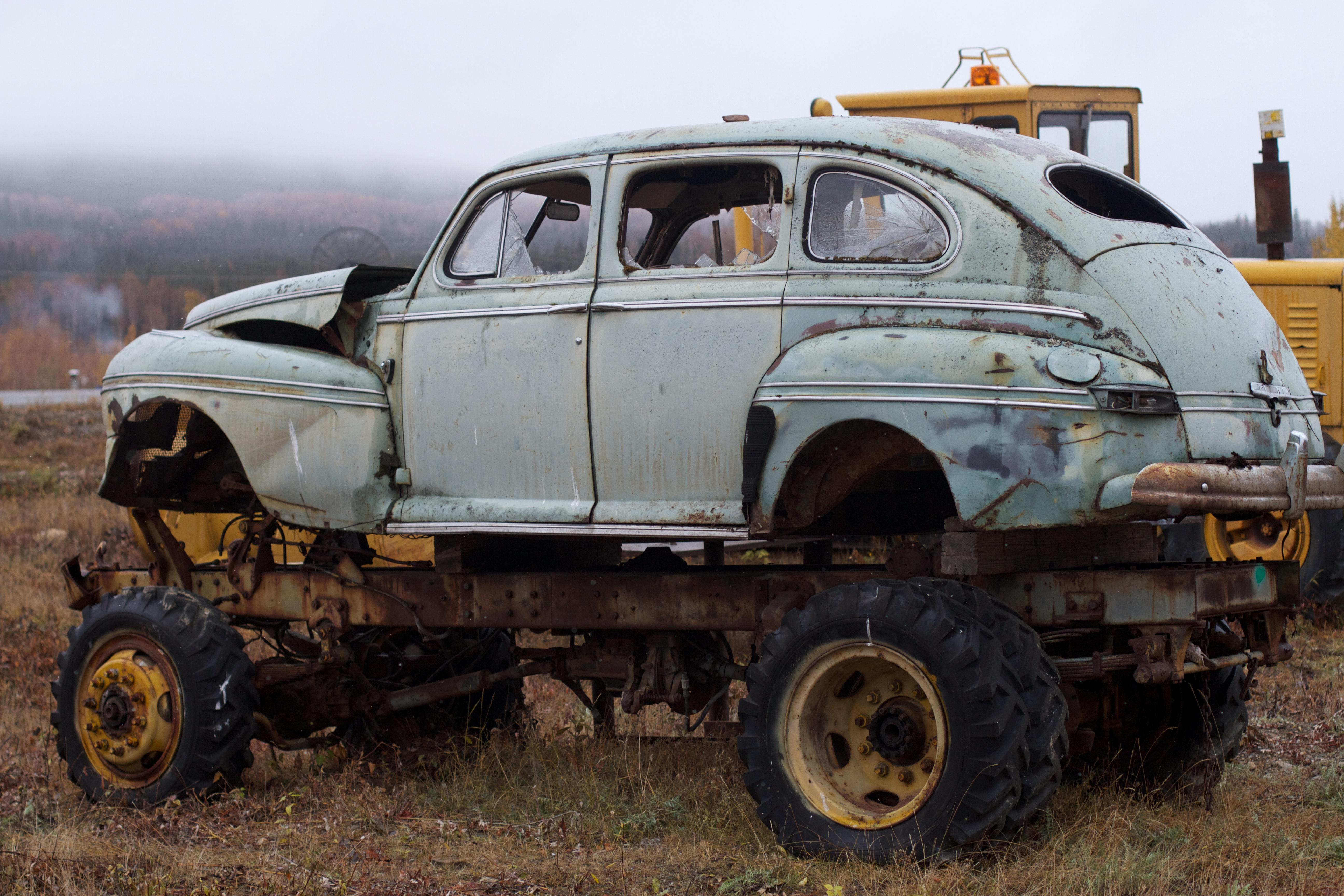 Gambar Truk Kendaraan Bermotor Mobil Antik Gambar Keren Off