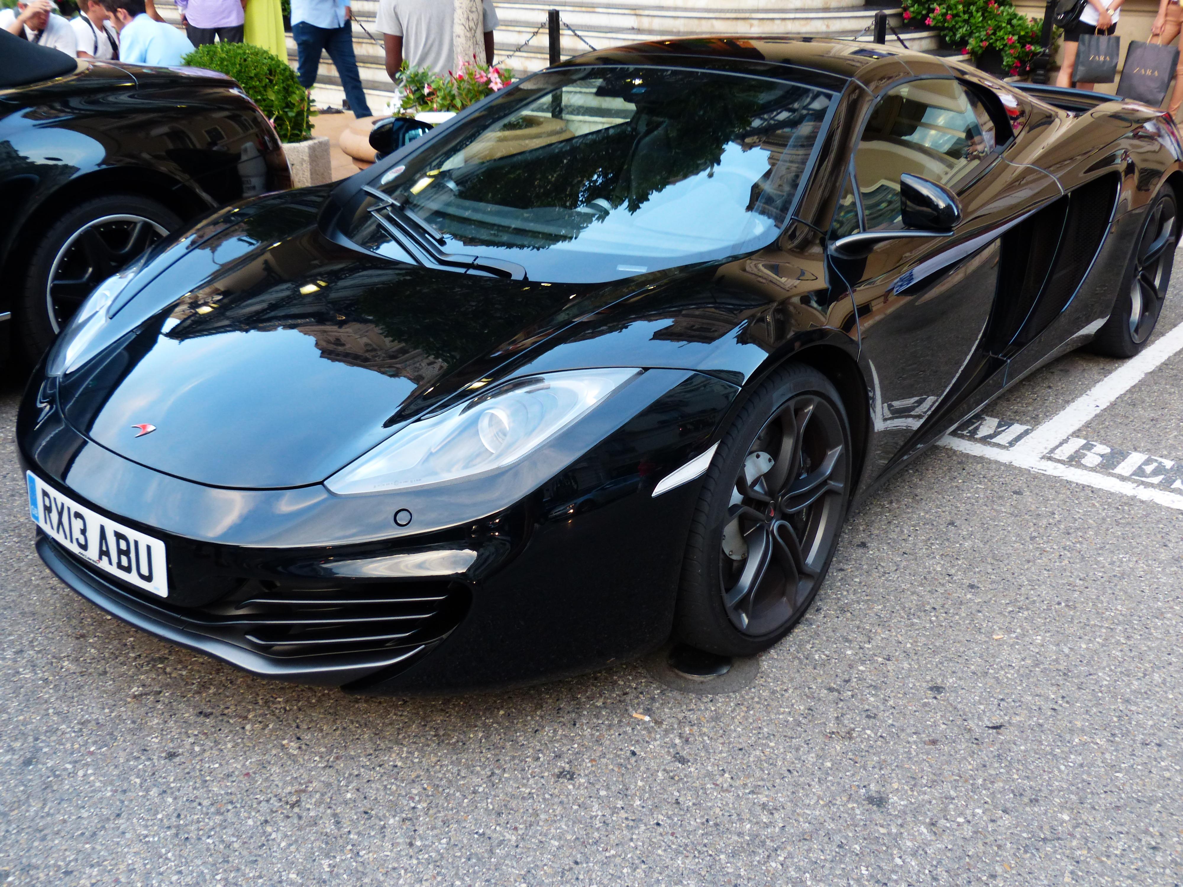 Free auto black sports car supercar sporty stylish