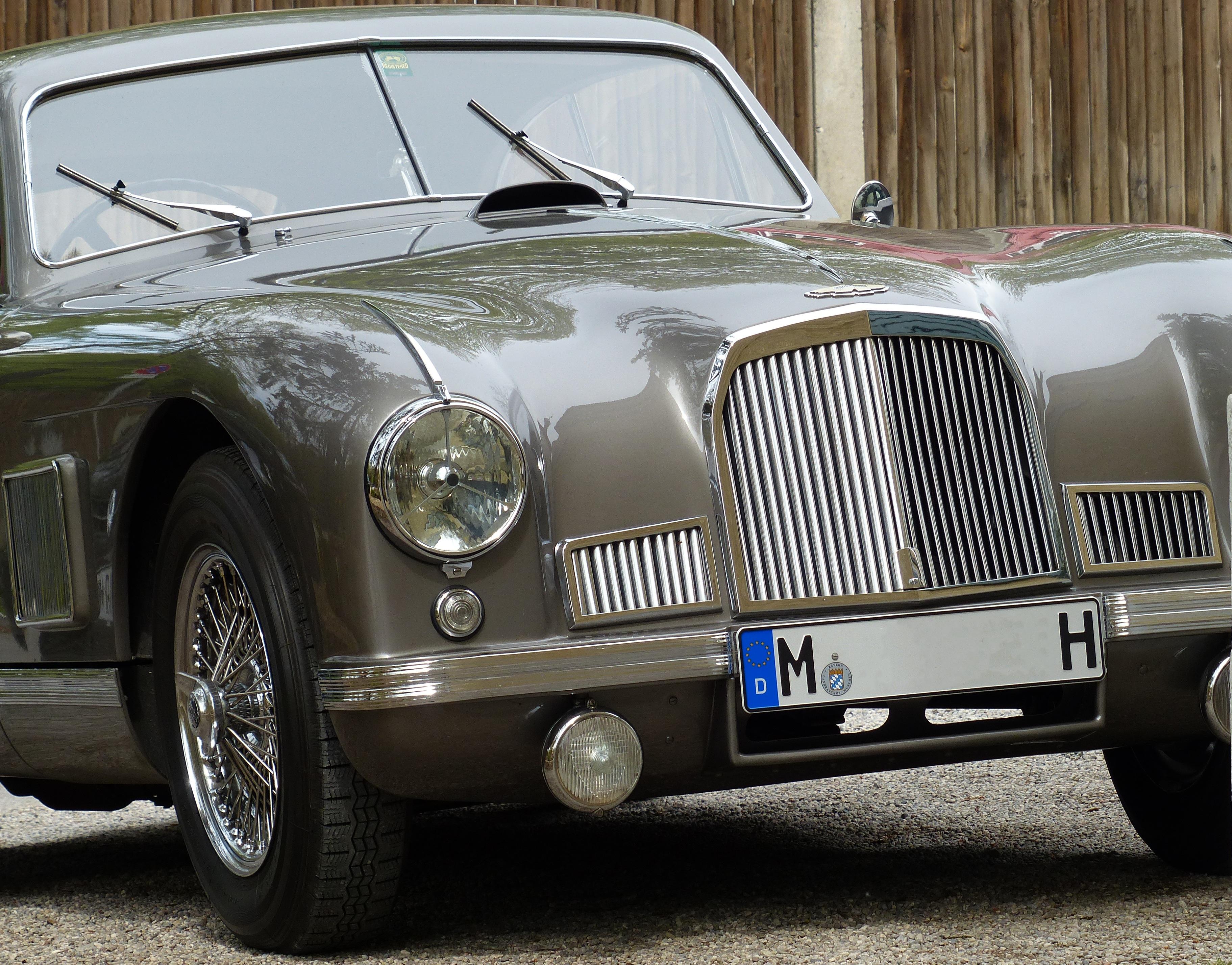 Free Images : auto, classic car, sports car, vintage car, hood ...