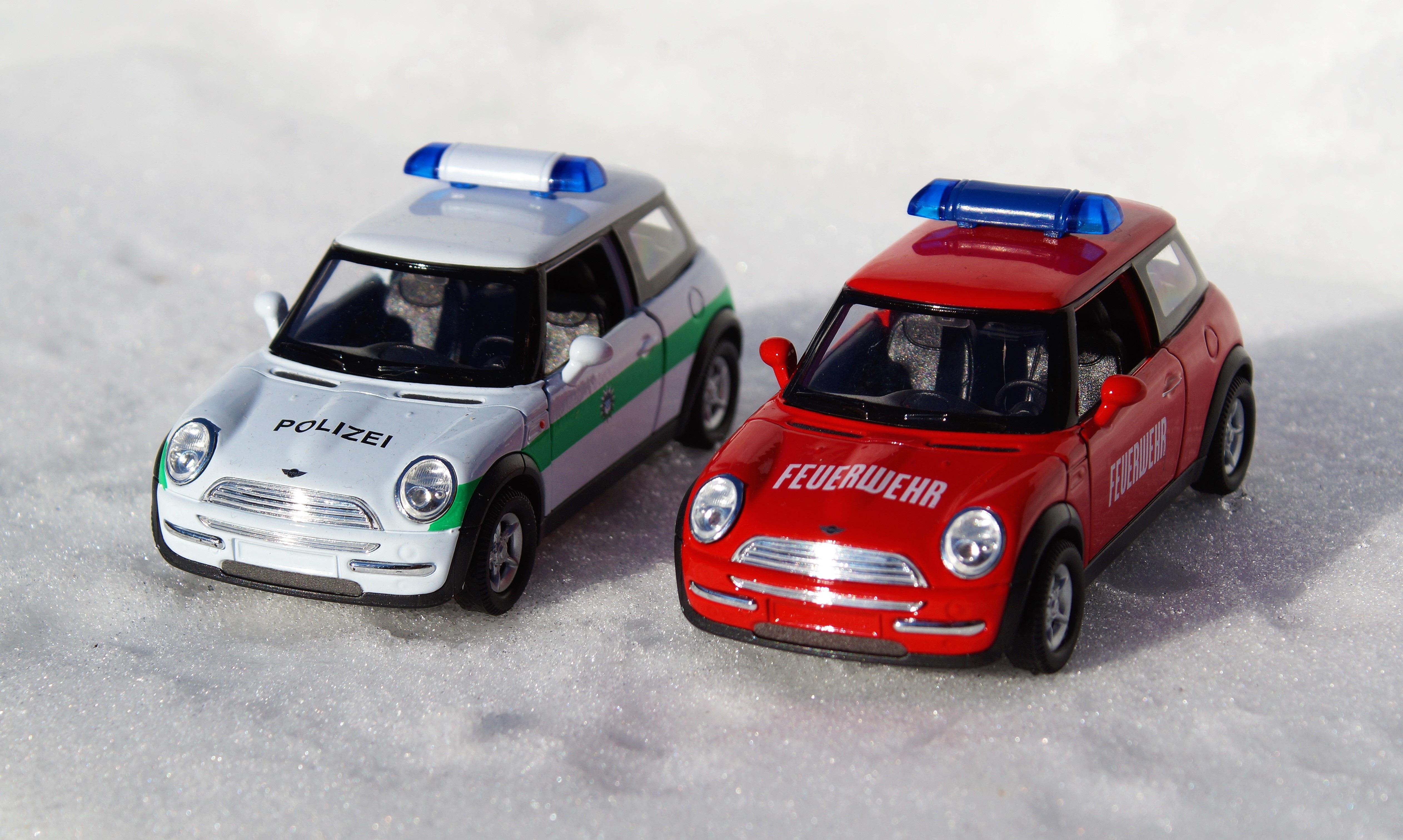 Images Gratuites Véhicule Feu Auto Camion De Pompier Mini