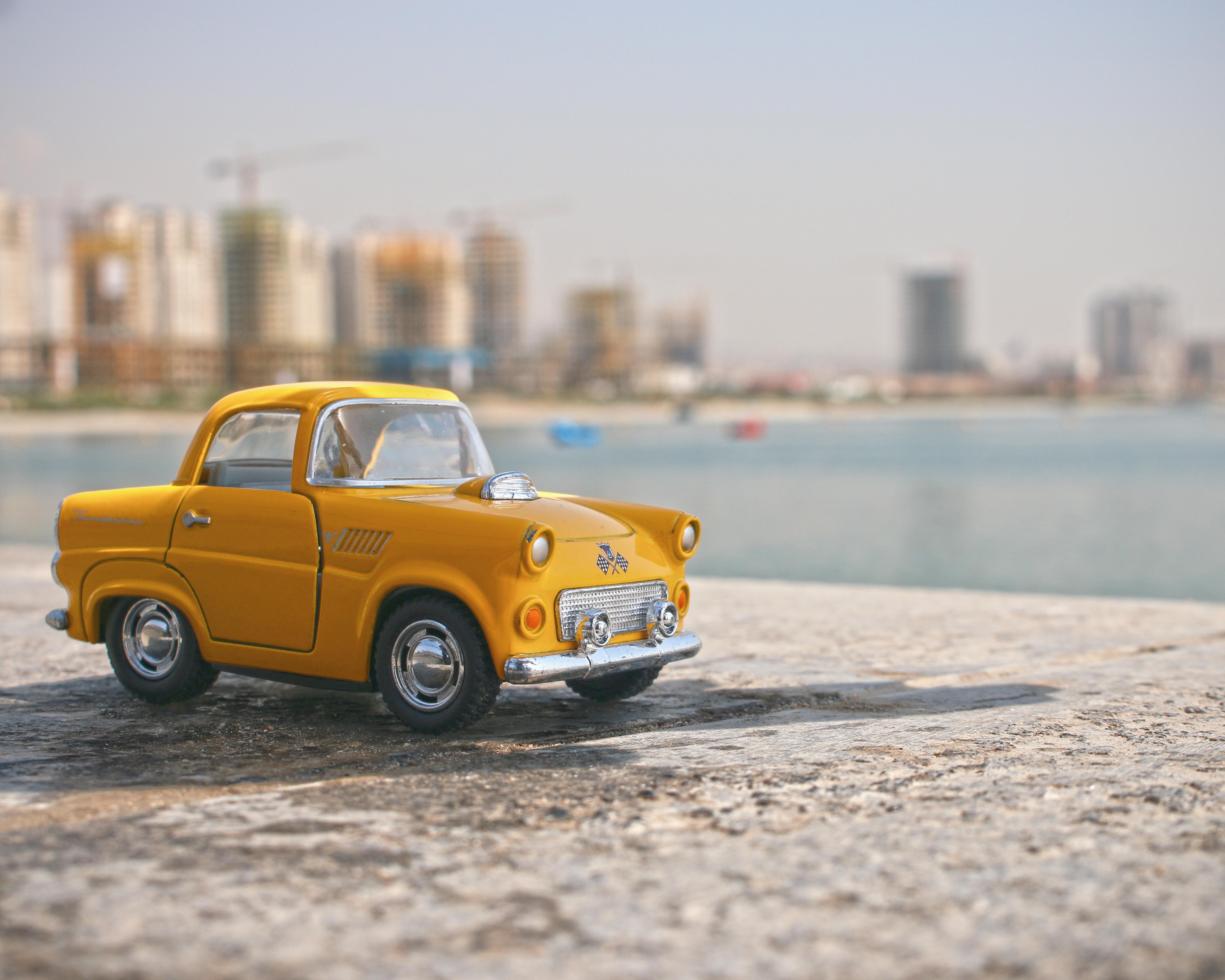 Macro Vintage Car Miniature