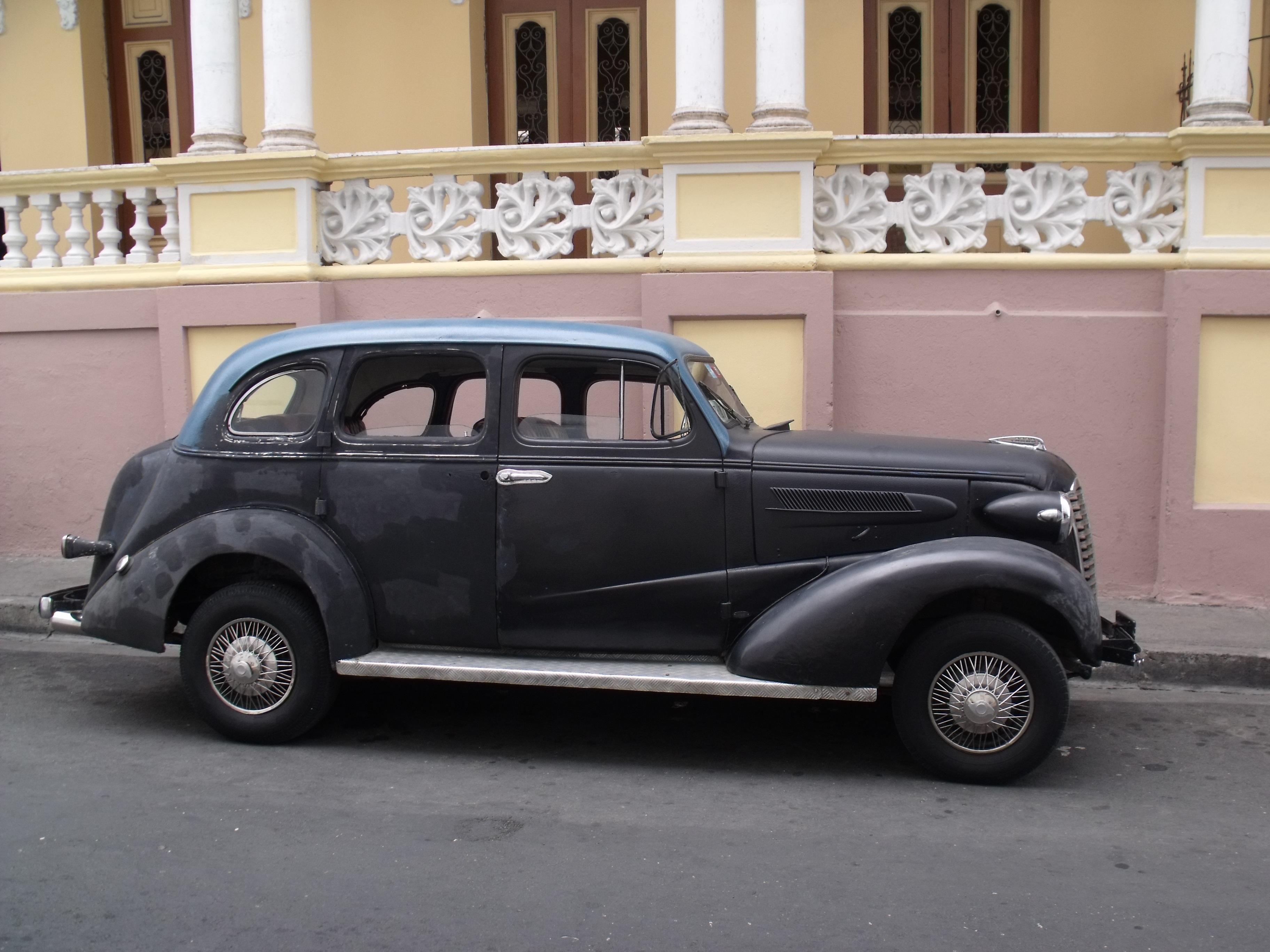 Free Images : motor vehicle, vintage car, cuba, sedan, classic ...