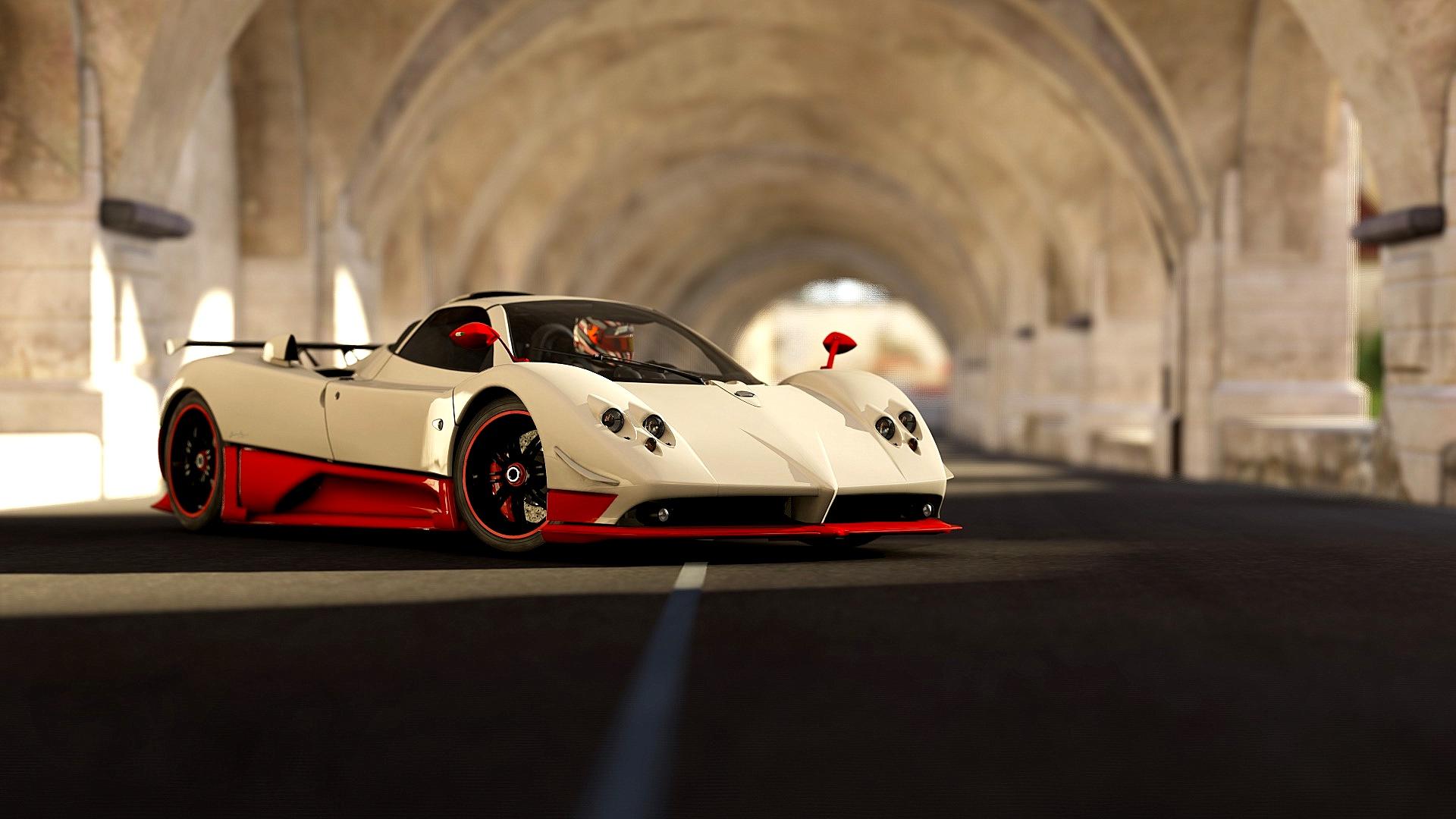 Car Vehicle Sports Car Race Car Supercar Land Vehicle Automobile Make Automotive Design Luxury Vehicle Pagani Public Domain