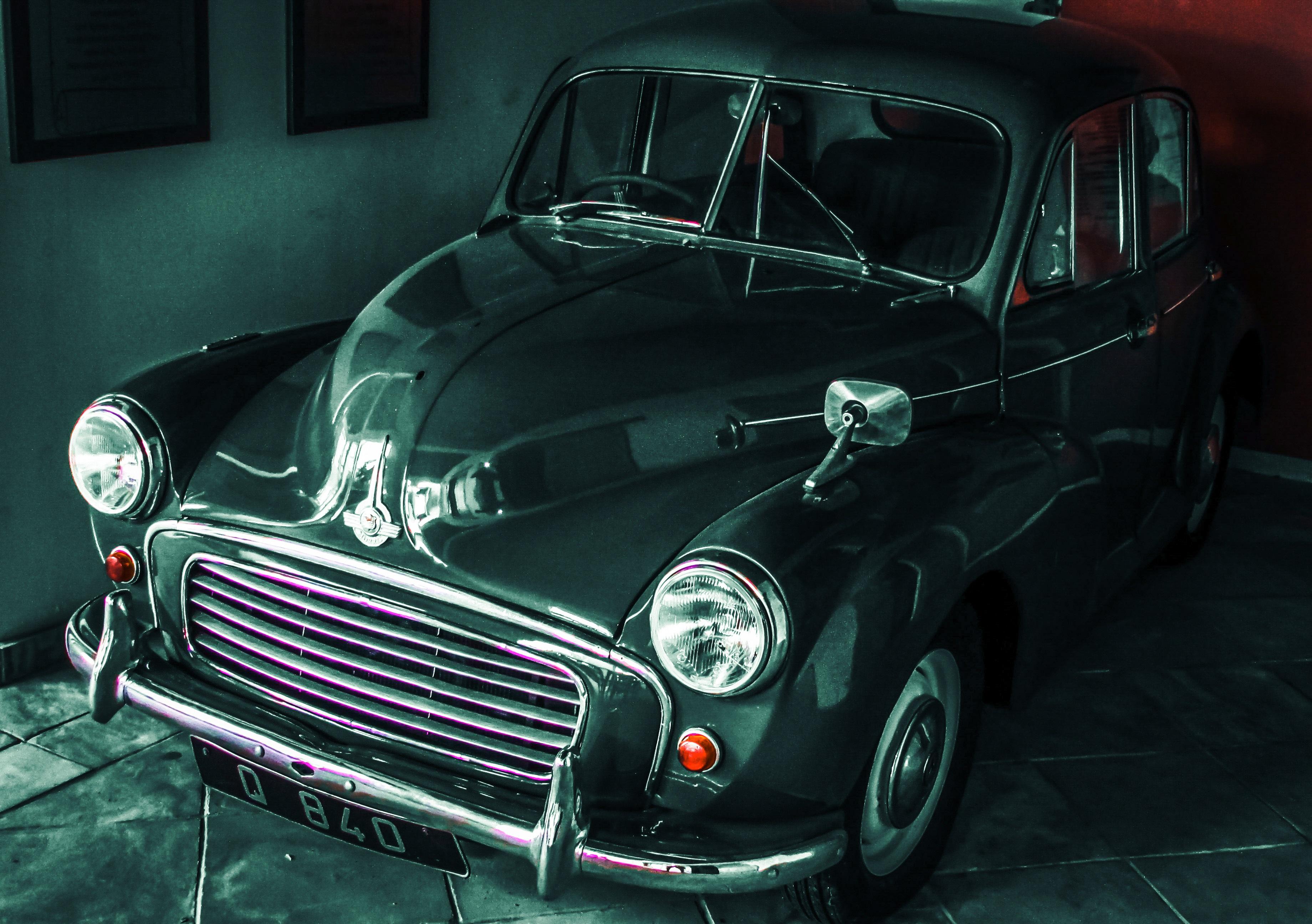 Gambar Vintage Retro Mobil Tua Mobil Antik Mini Cooper Klasik