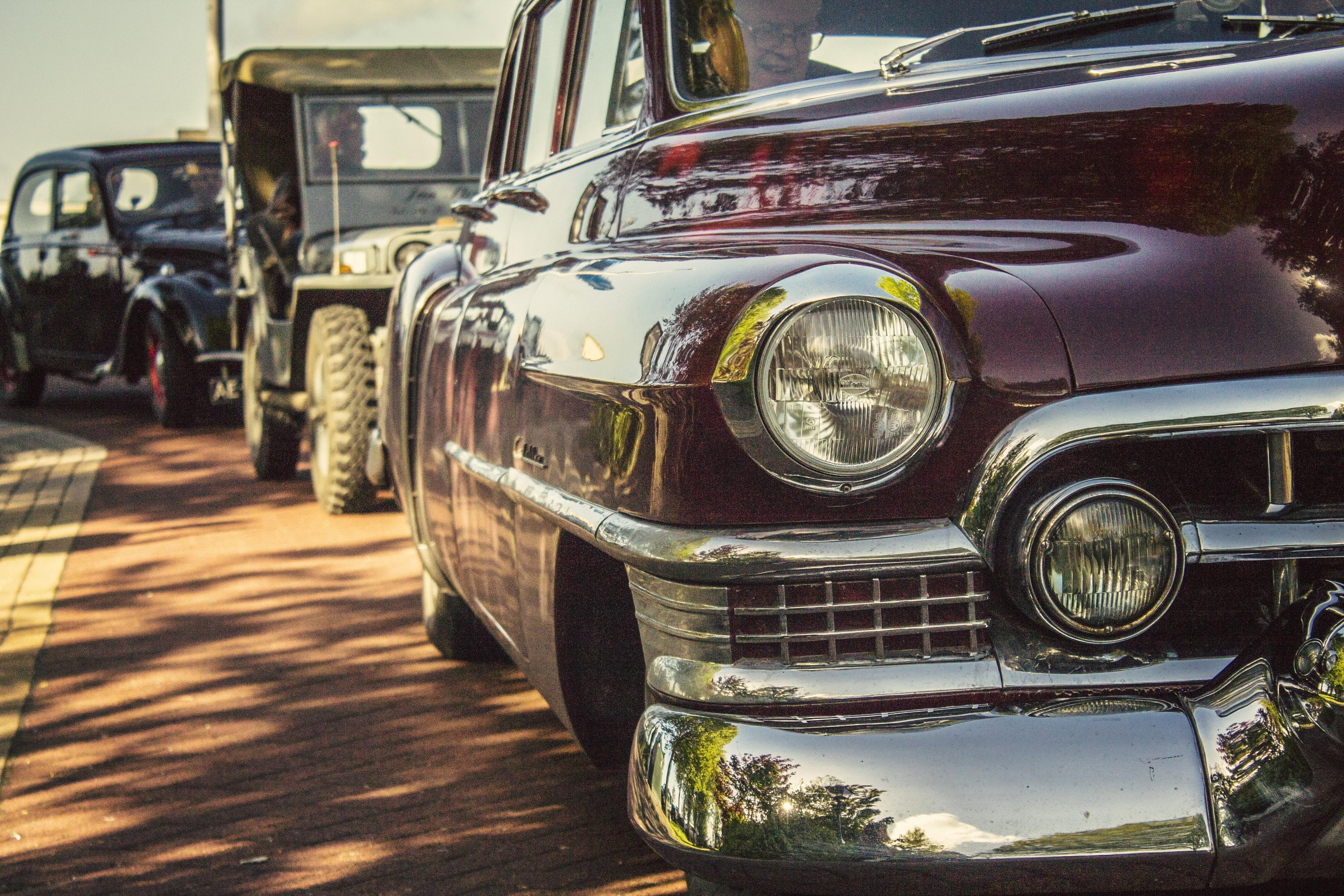 Free Images Retro Purple Transport Contrast Old Car Motor