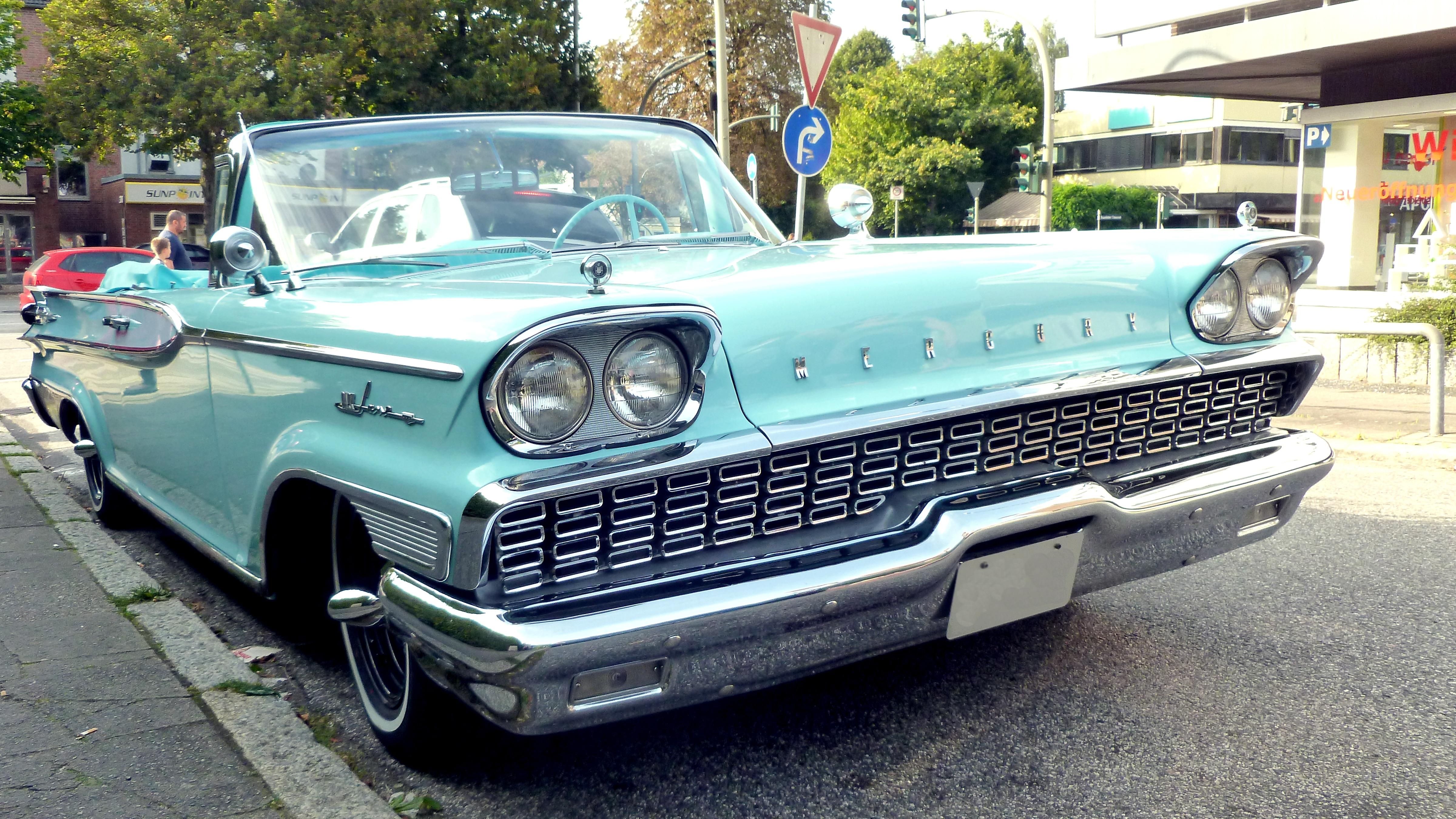 Free Images Vintage Retro Usa Auto Nostalgia Old Car Spotlight Clic Per Cars Sedan Oldtimer Convertible Mercury V8 Pkw