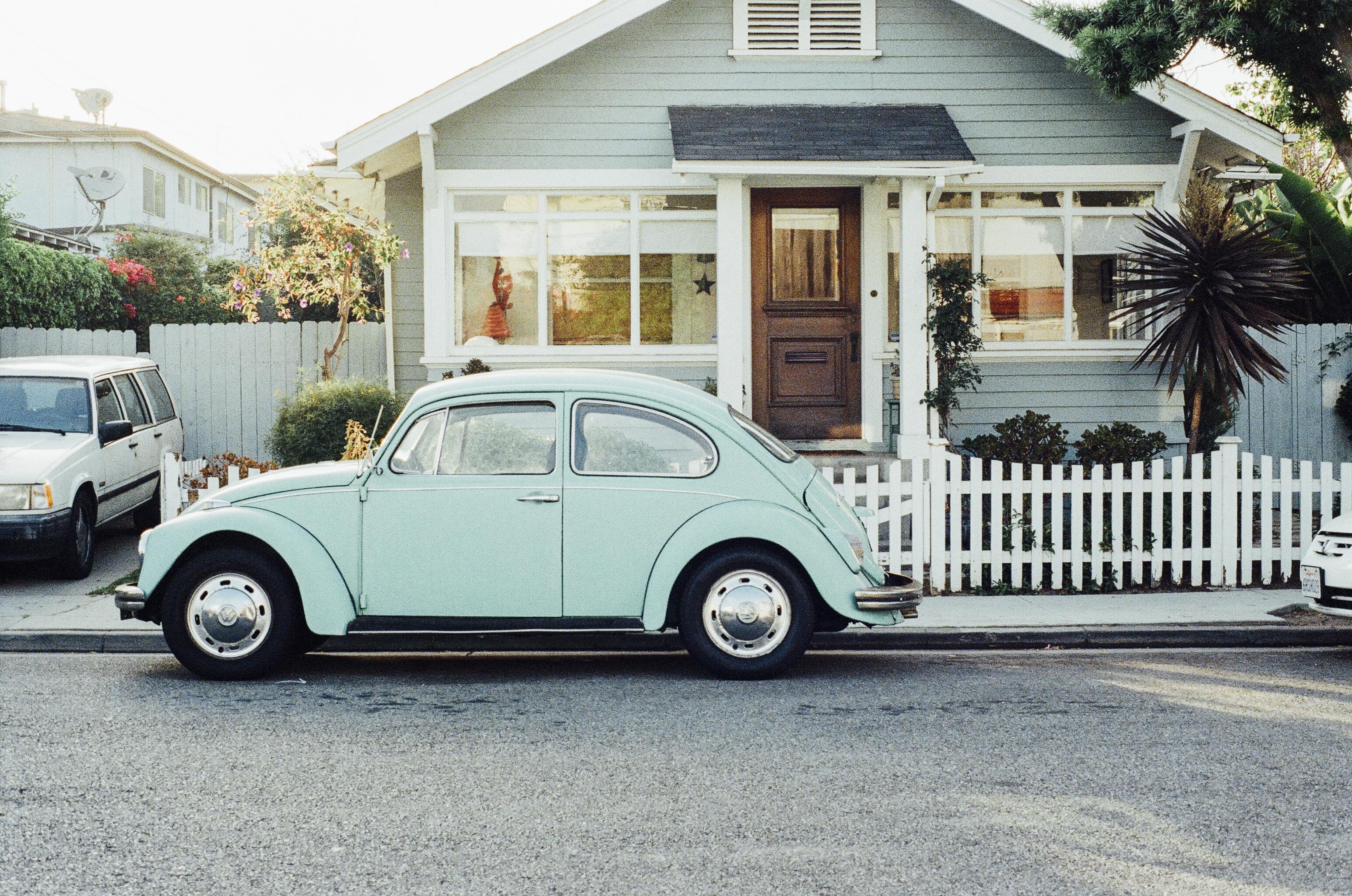 Free Images : wheel, house, vw, old, motor vehicle, vintage car ...