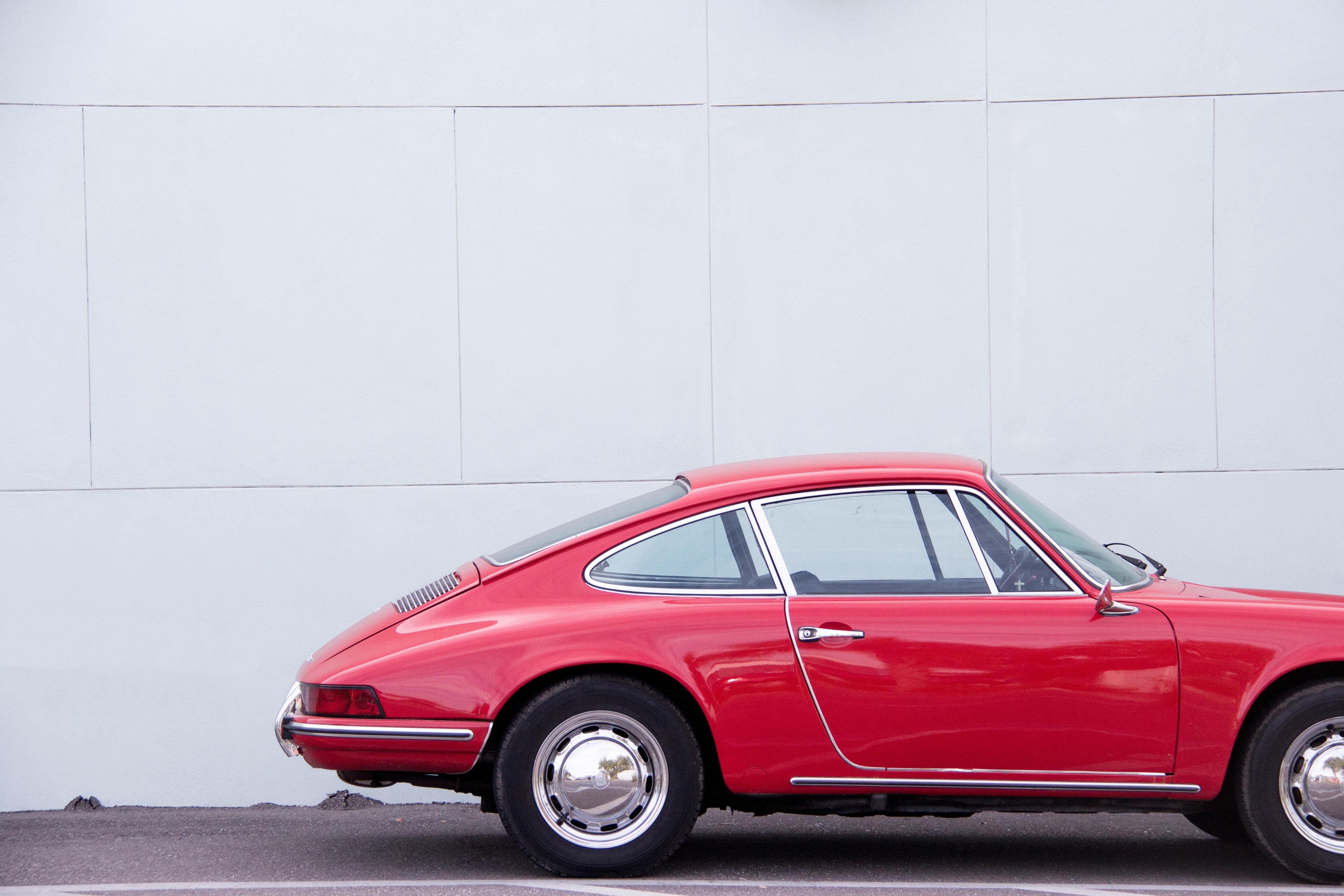 Car Vintage Wheel Red Vehicle Classic Sports Convertible Coupe Porsche Land 911