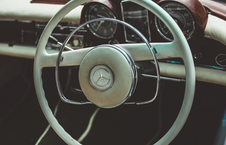 Free Images Steering Wheel Dashboard Speedometer Sports Car Vintage Interior Mercedes Benz Antique Land Vehicle Automobile Make