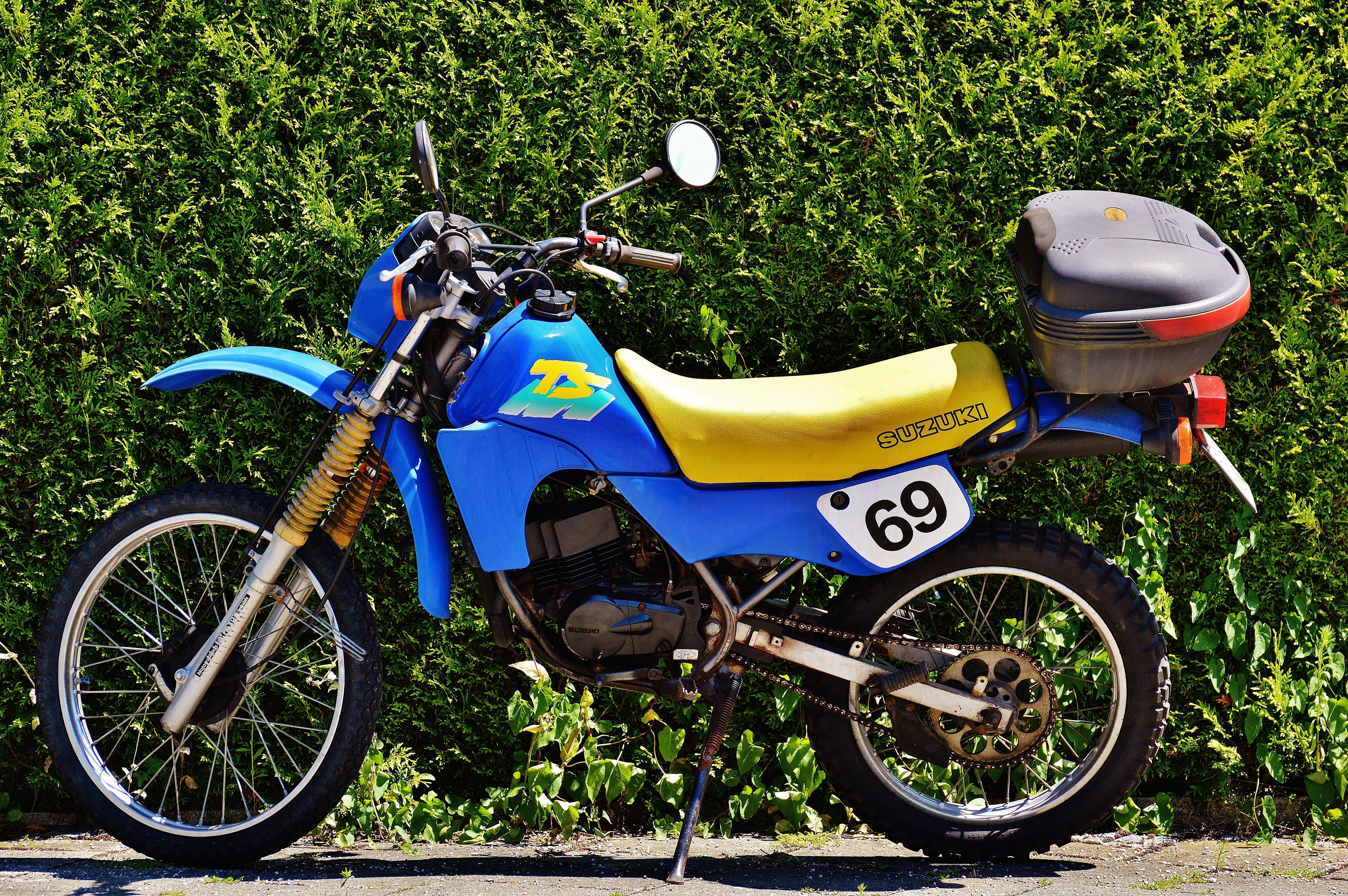 Auto Rad Fahrrad Fahrzeug Motorrad Extremsport Moped Rennen Suzuki Enduro Fahren Gelandewagen Landfahrzeug Ts50xk Automobil