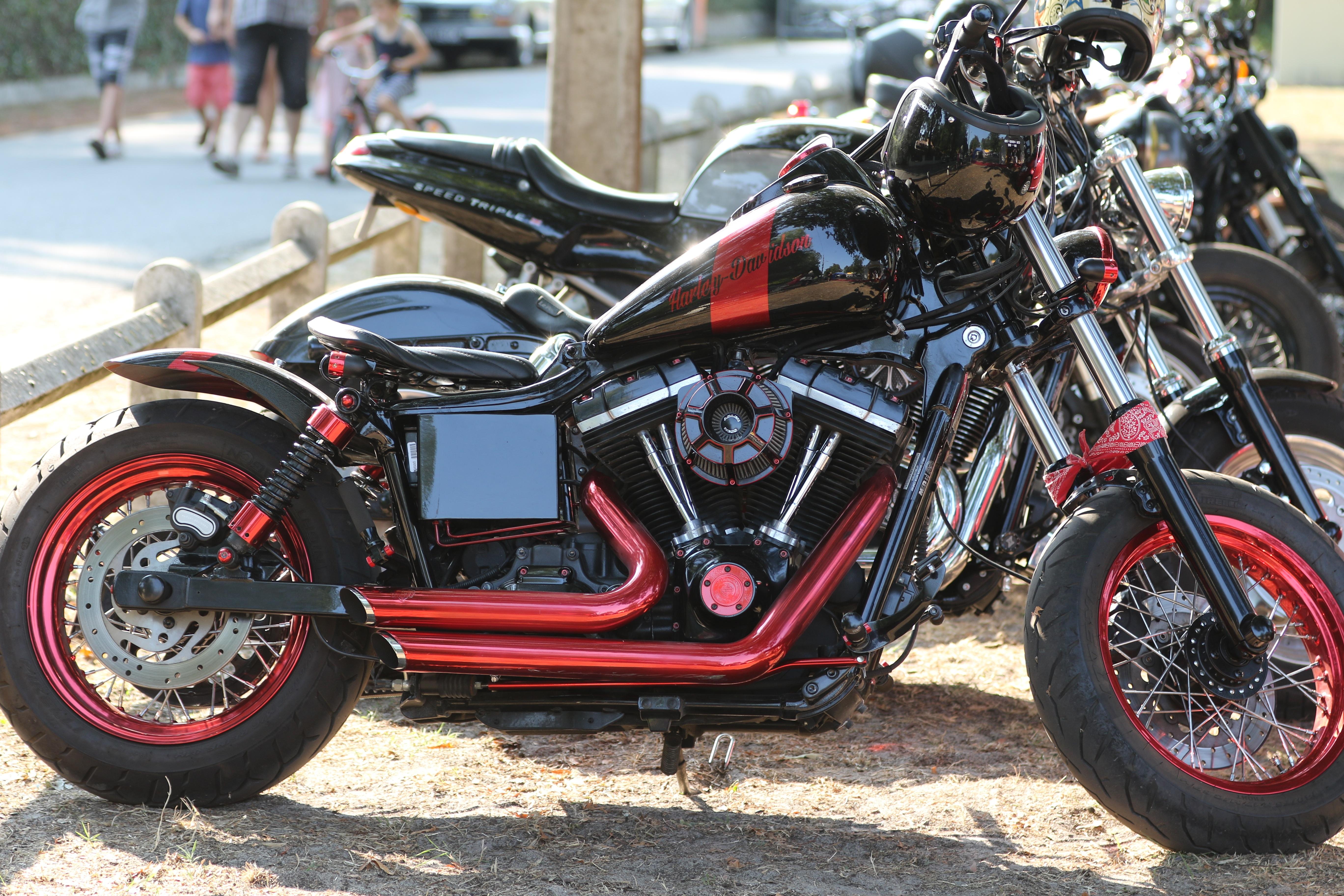 Car Wheel Red Vehicle Motorcycle Black Custom Chopper Nab Harley Davidson  Cruiser Motorcycling Land Automobile S