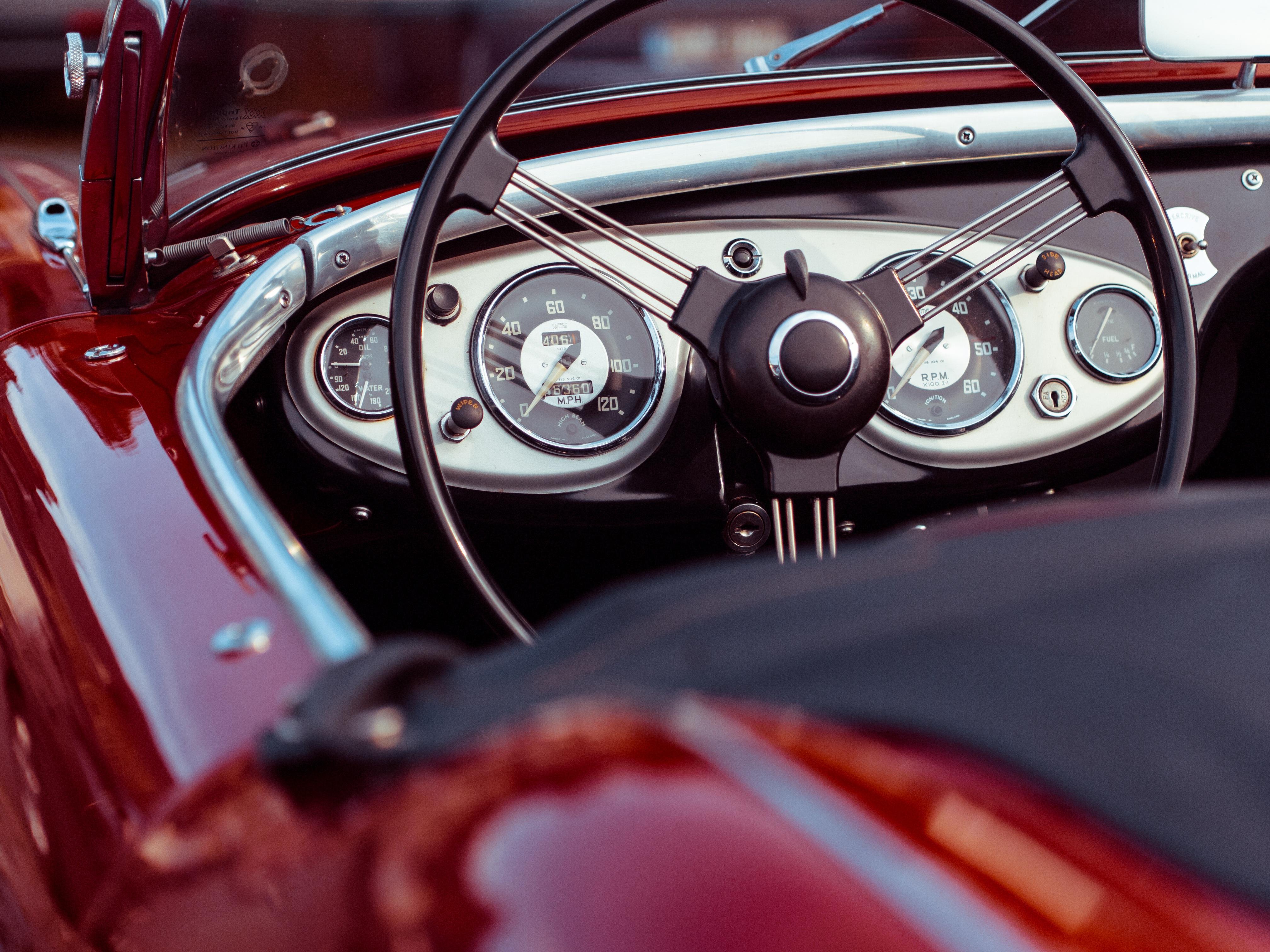Classic Car Interior Design