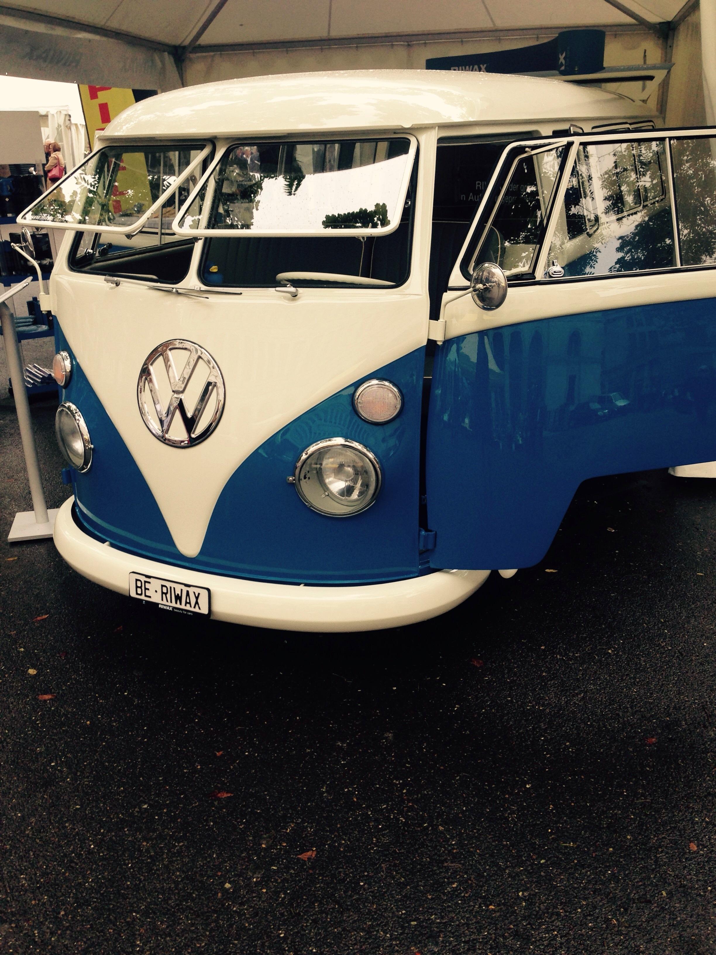Gambar Roda Retro Vw Volkswagen Mobil Van Mendorong Mobil