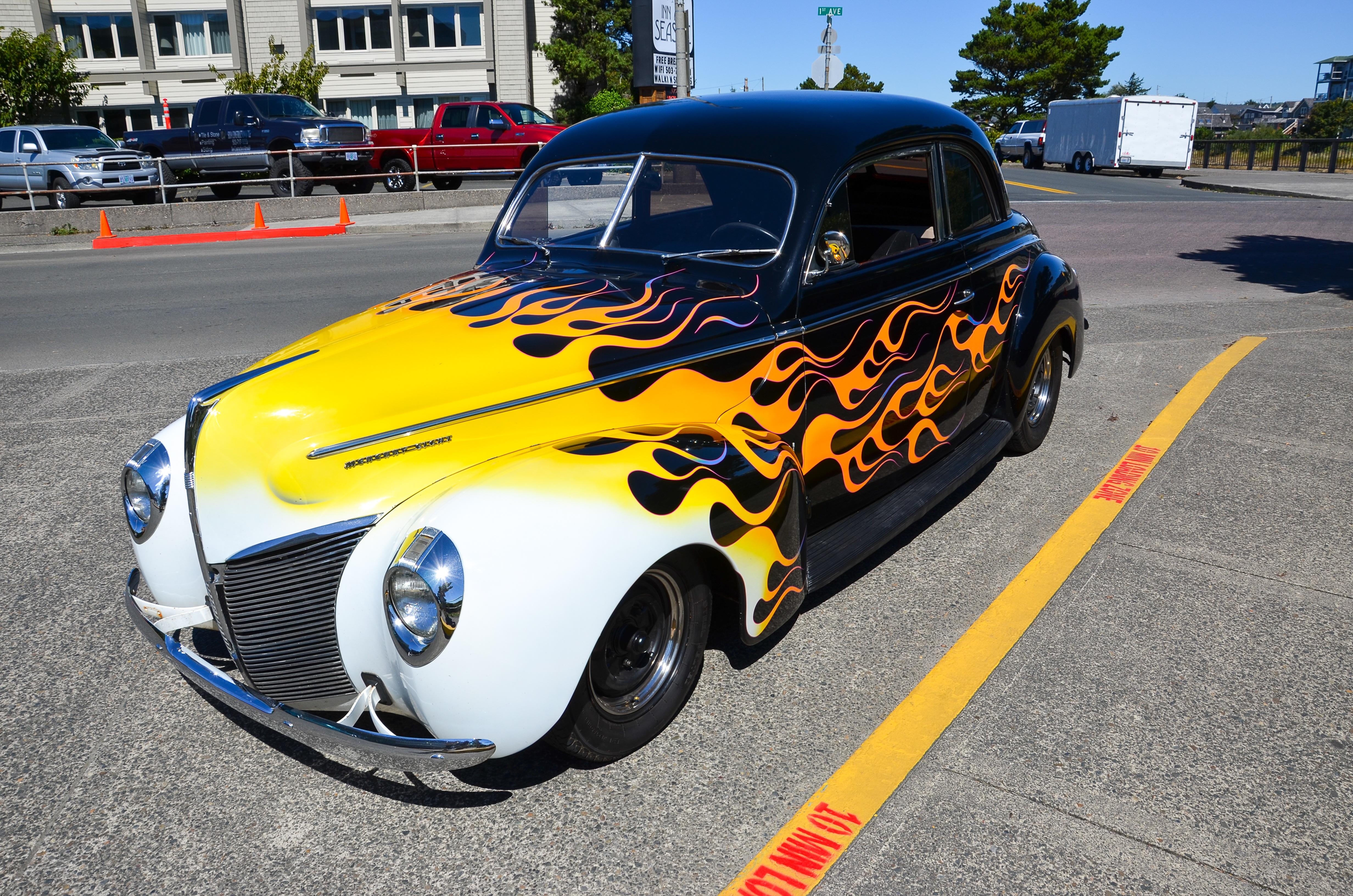 Free Images Wheel Seaside Usa America Old Car Motor Vehicle - Seaside oregon car show