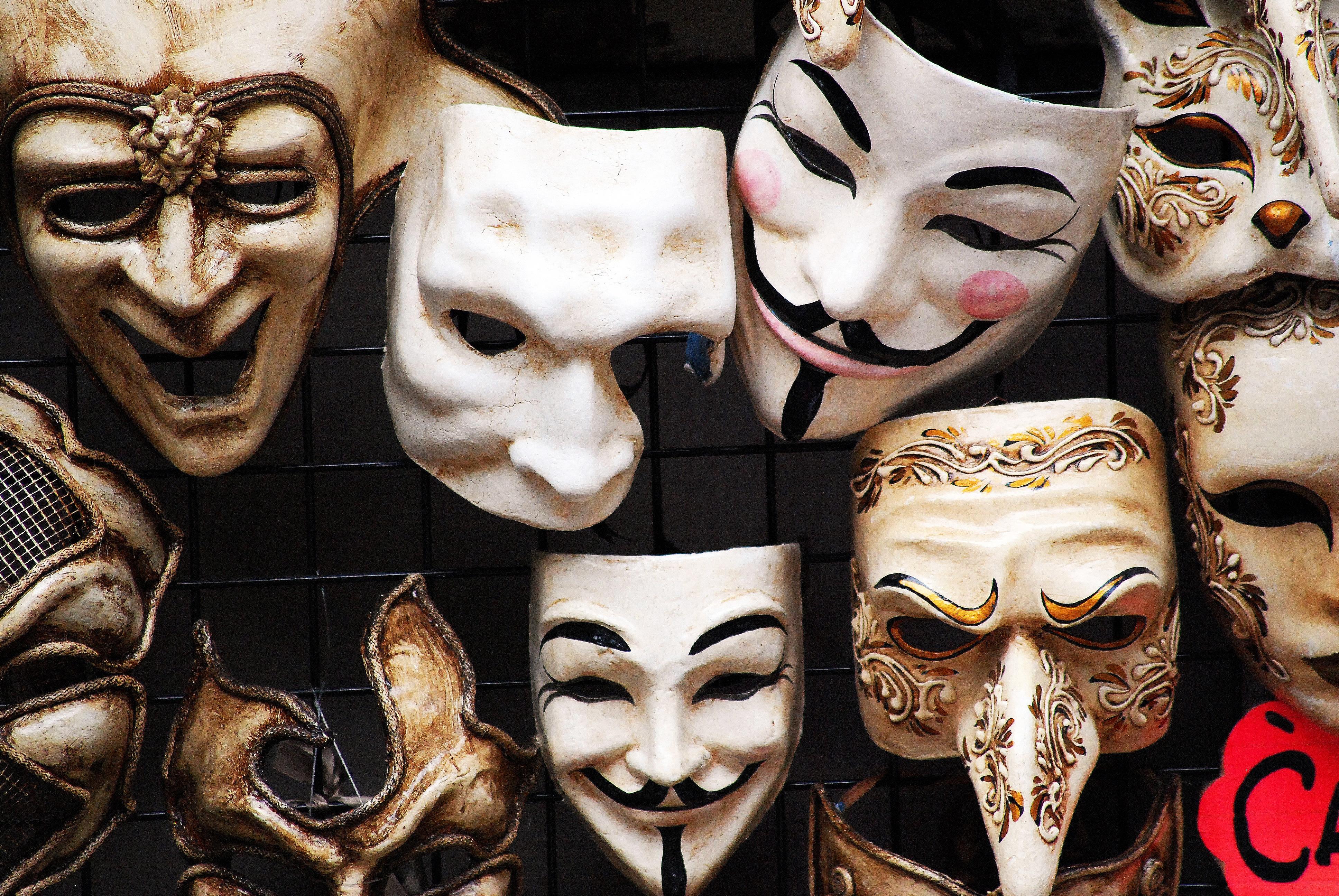 бед картинки актерских масок системы