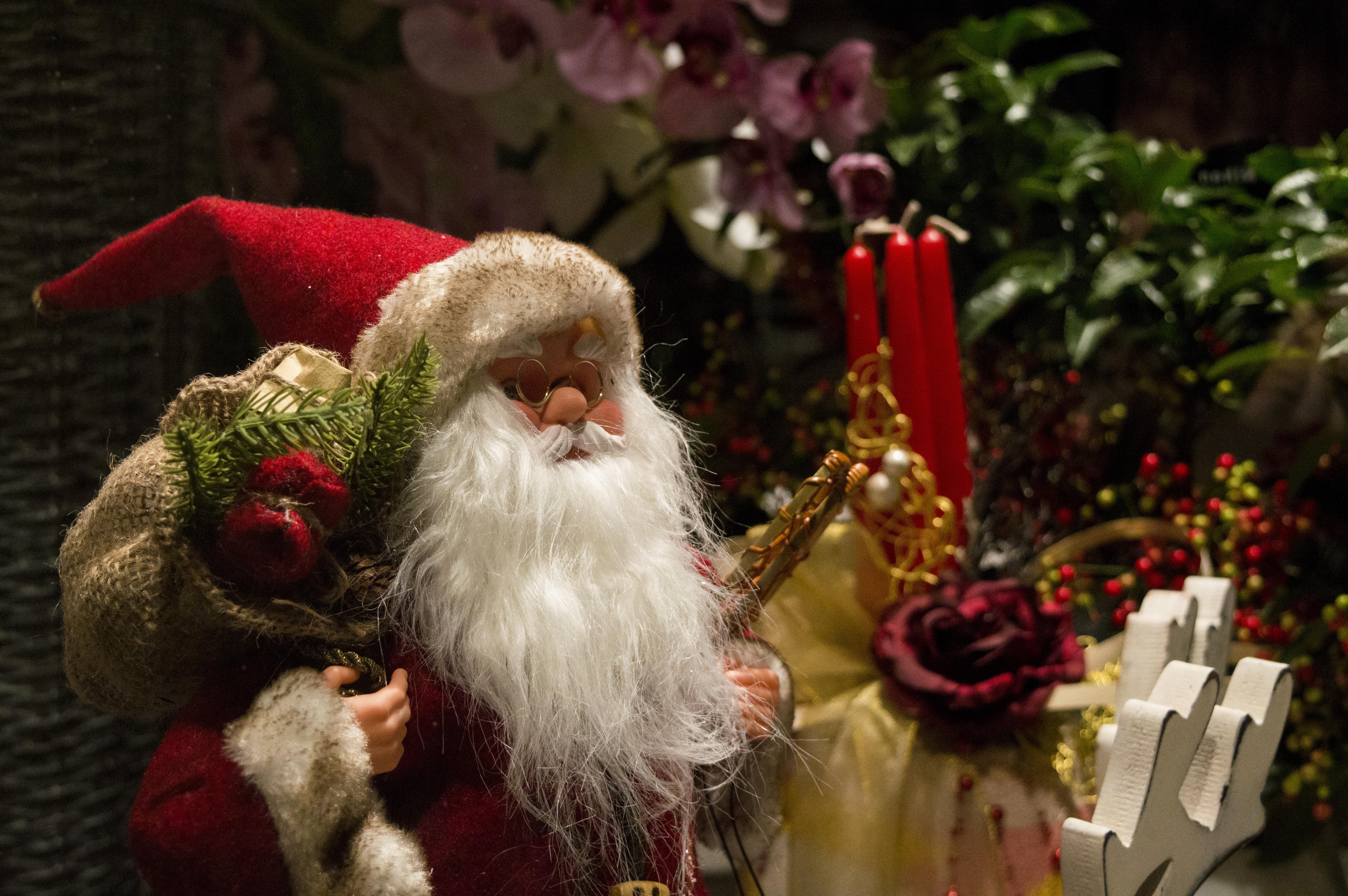 celebration decoration red holiday christmas decor santa happy grandpa xmas santa claus merry fictional character - Grandpa For Christmas