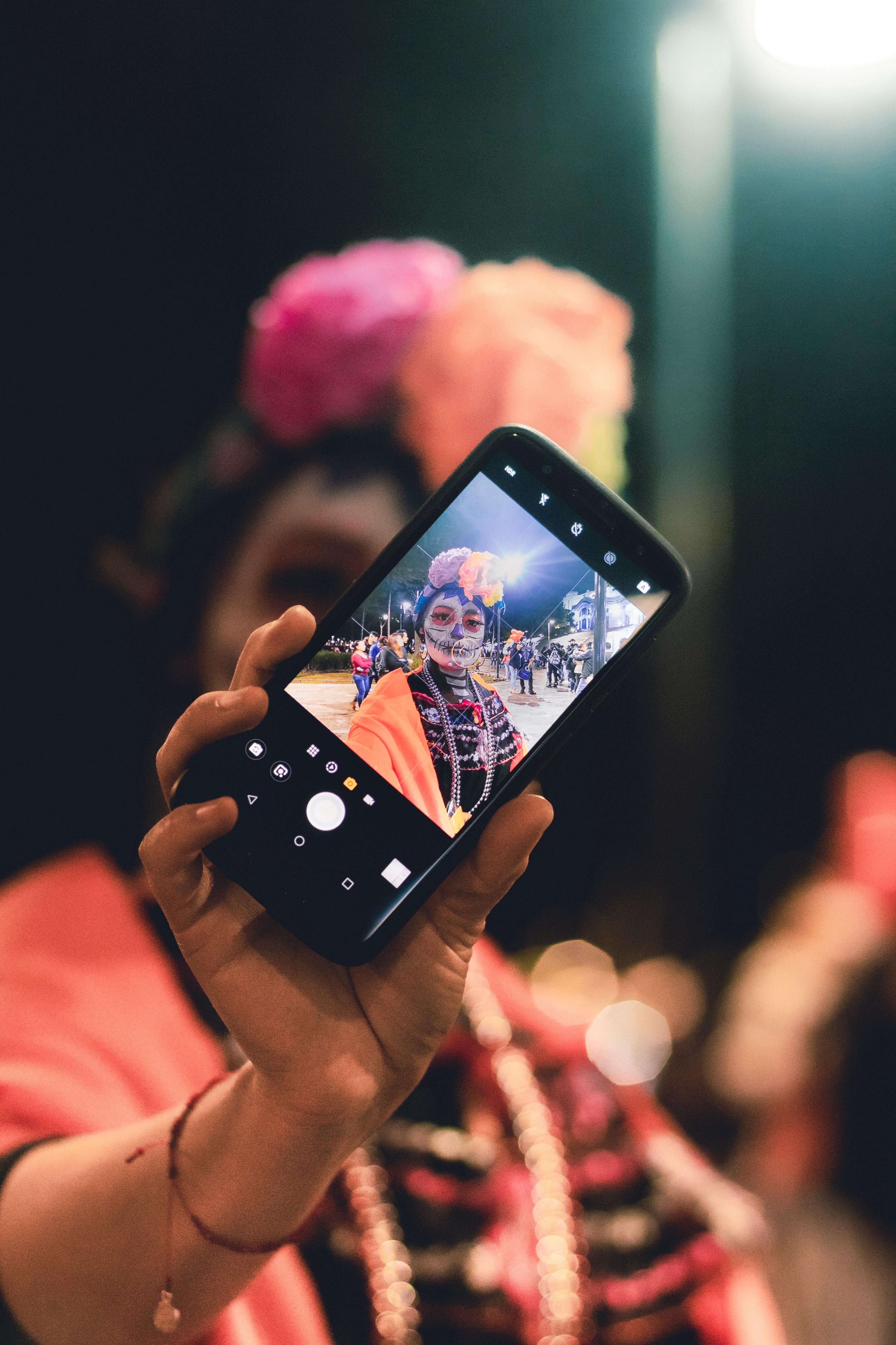 Fotoğraf Kutlama Dia De Muertos Sergilemek Yüz Boyası Festival