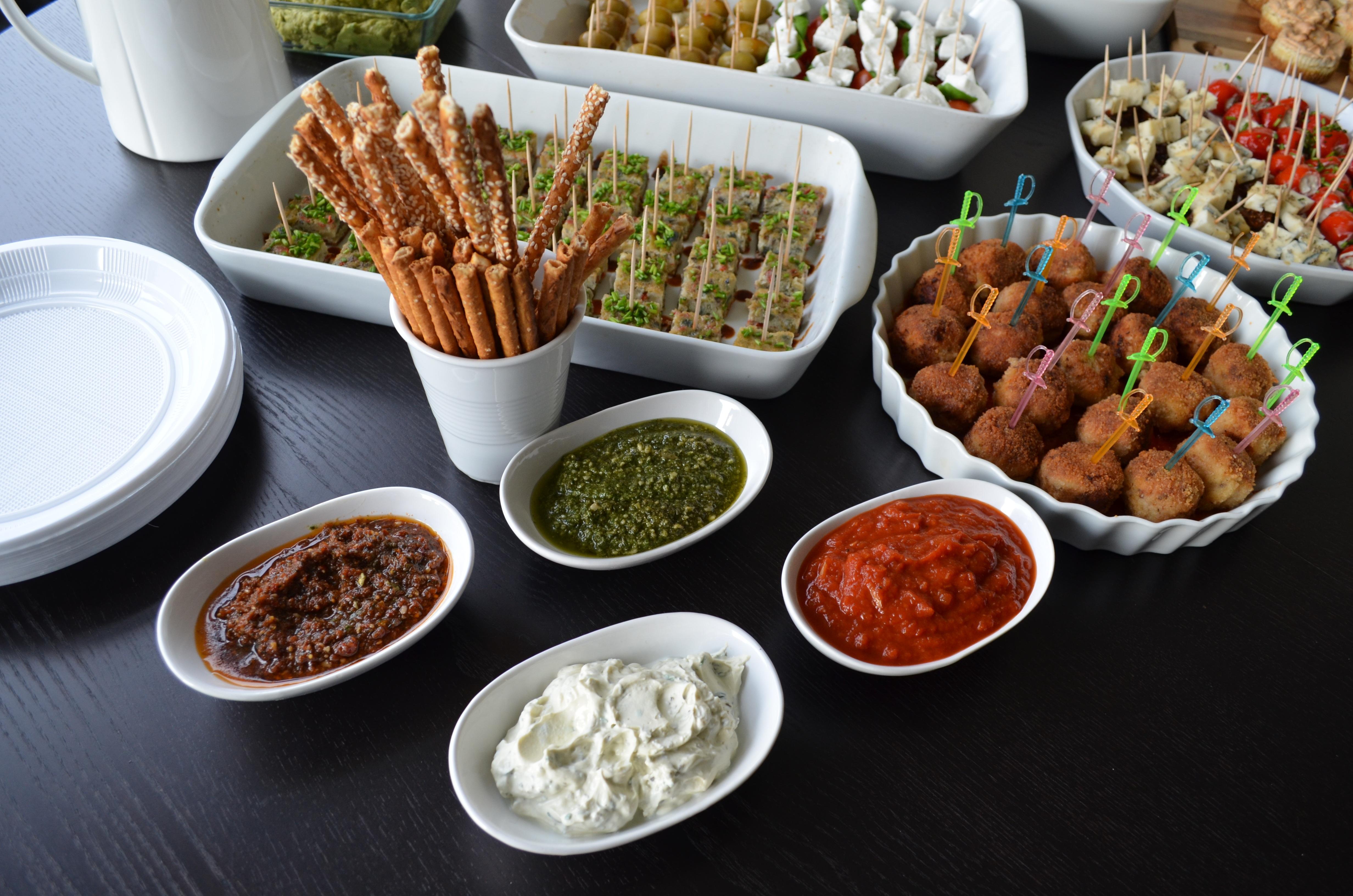 Gambar Perayaan Hidangan Sarapan Makan Siang Masakan Lezat
