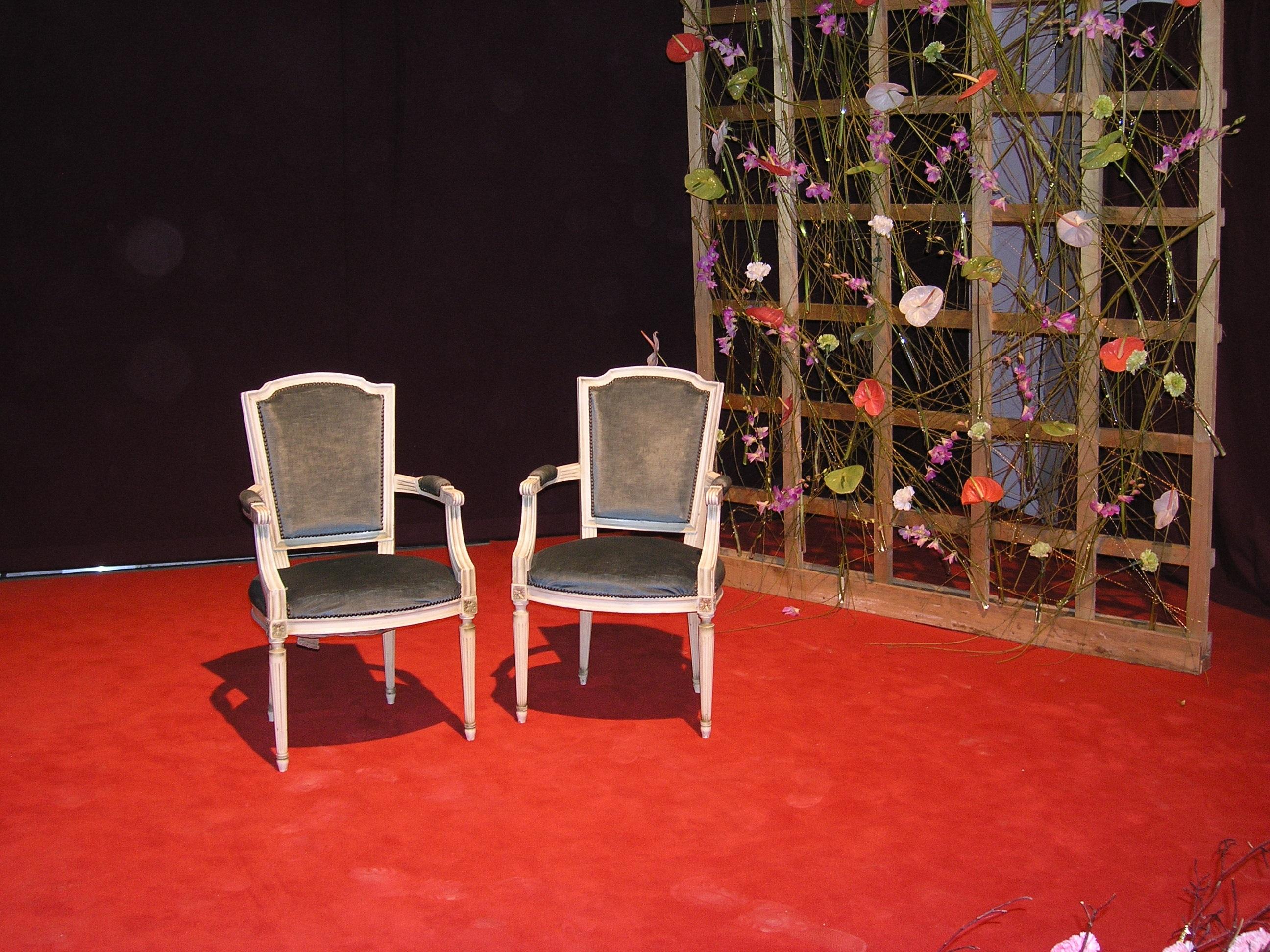 Chair Furniture Still Life Chairs Art Stage Flooring Green Week