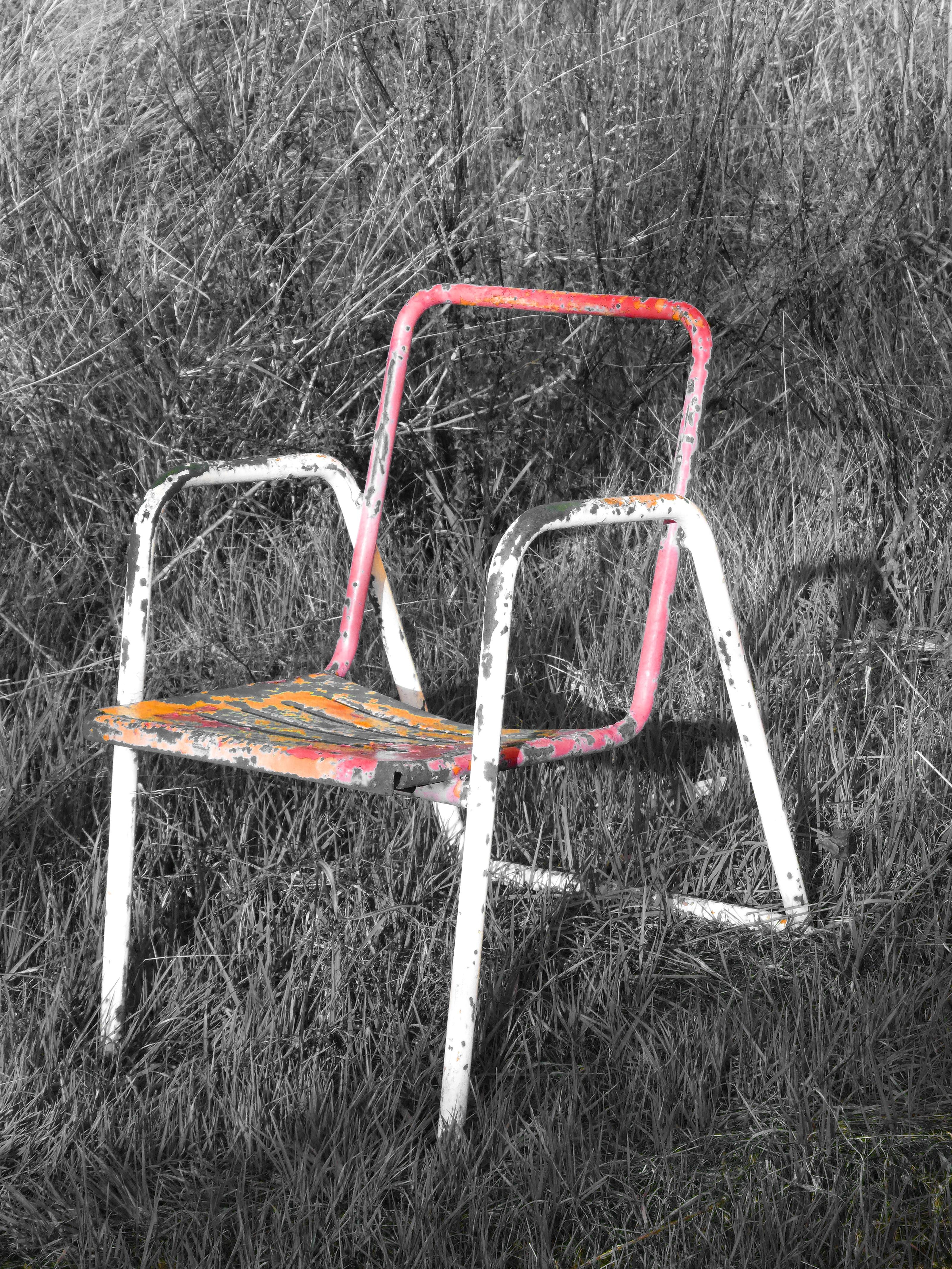 Fotos Gratis Silla L Nea S Mbolo Abandonado Mueble Concepto  # Muebles Soledad