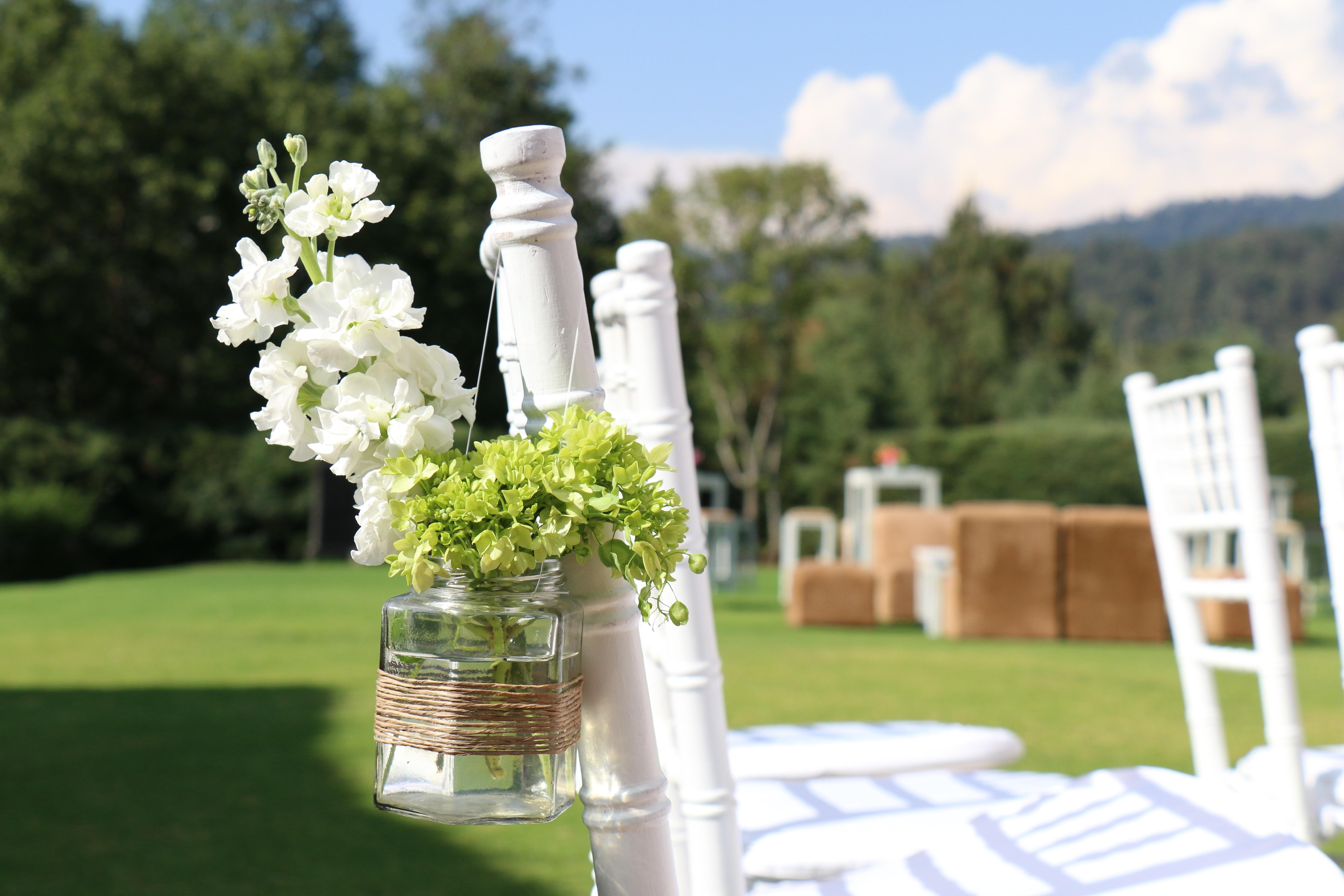 Free Images : chairs, garden, wedding, trim, flowers ...
