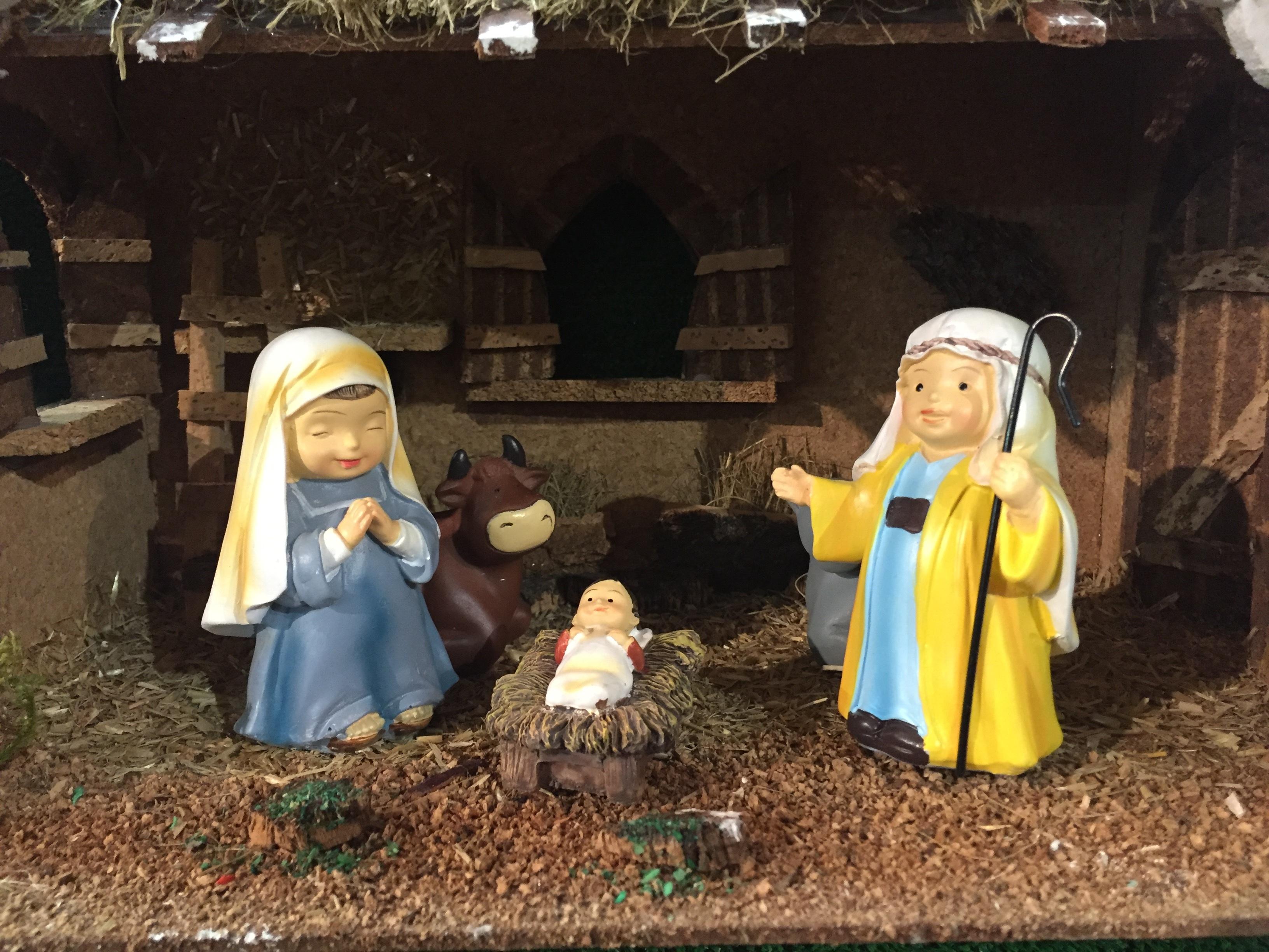 Images gratuites d cor d coration de no l christ maria j sus coin chiffres de la cr che - Images creches de noel gratuites ...