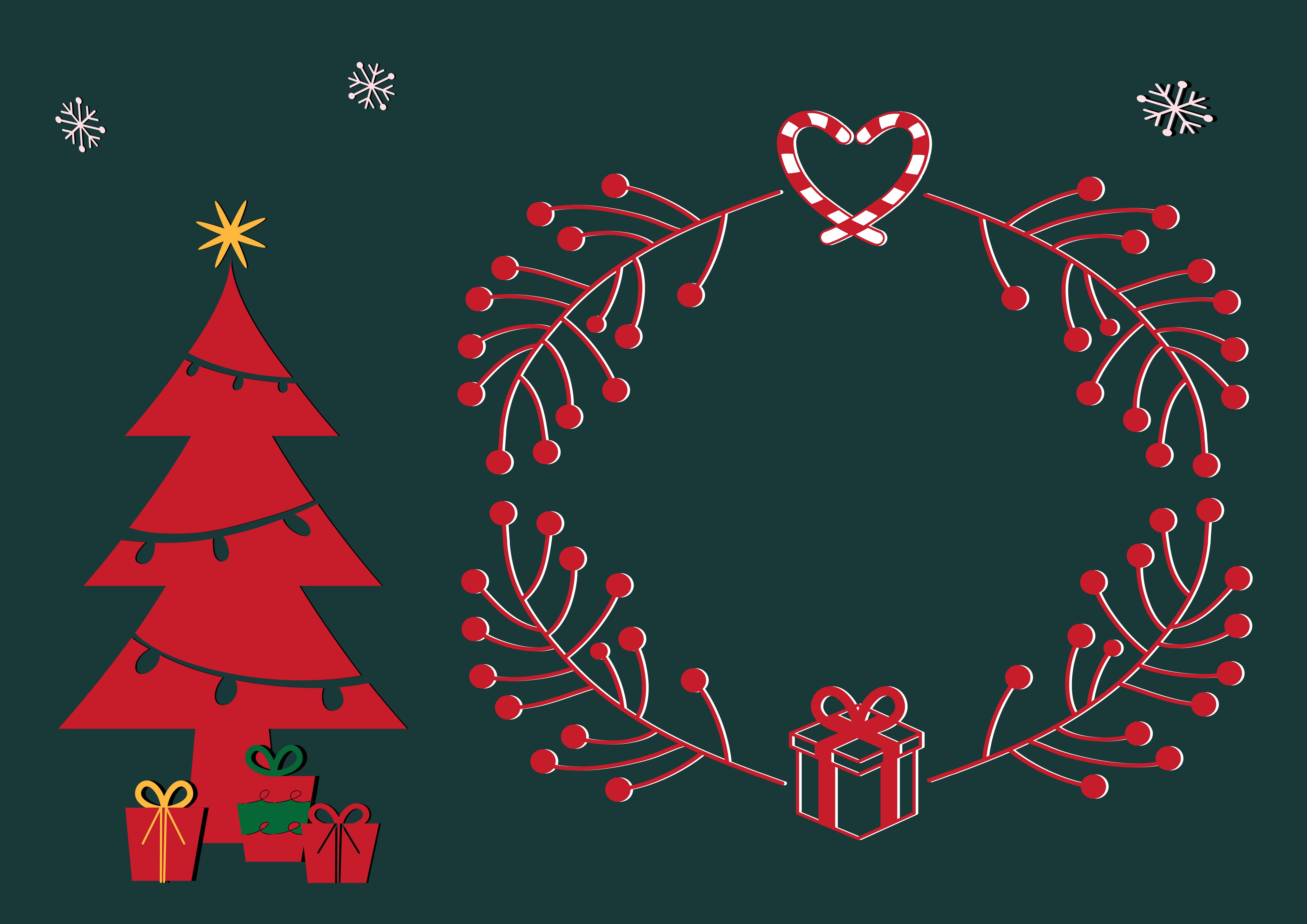 Moderne Christbaumkugeln.Free Images Christmas Motif Christmas Card Modern Frame