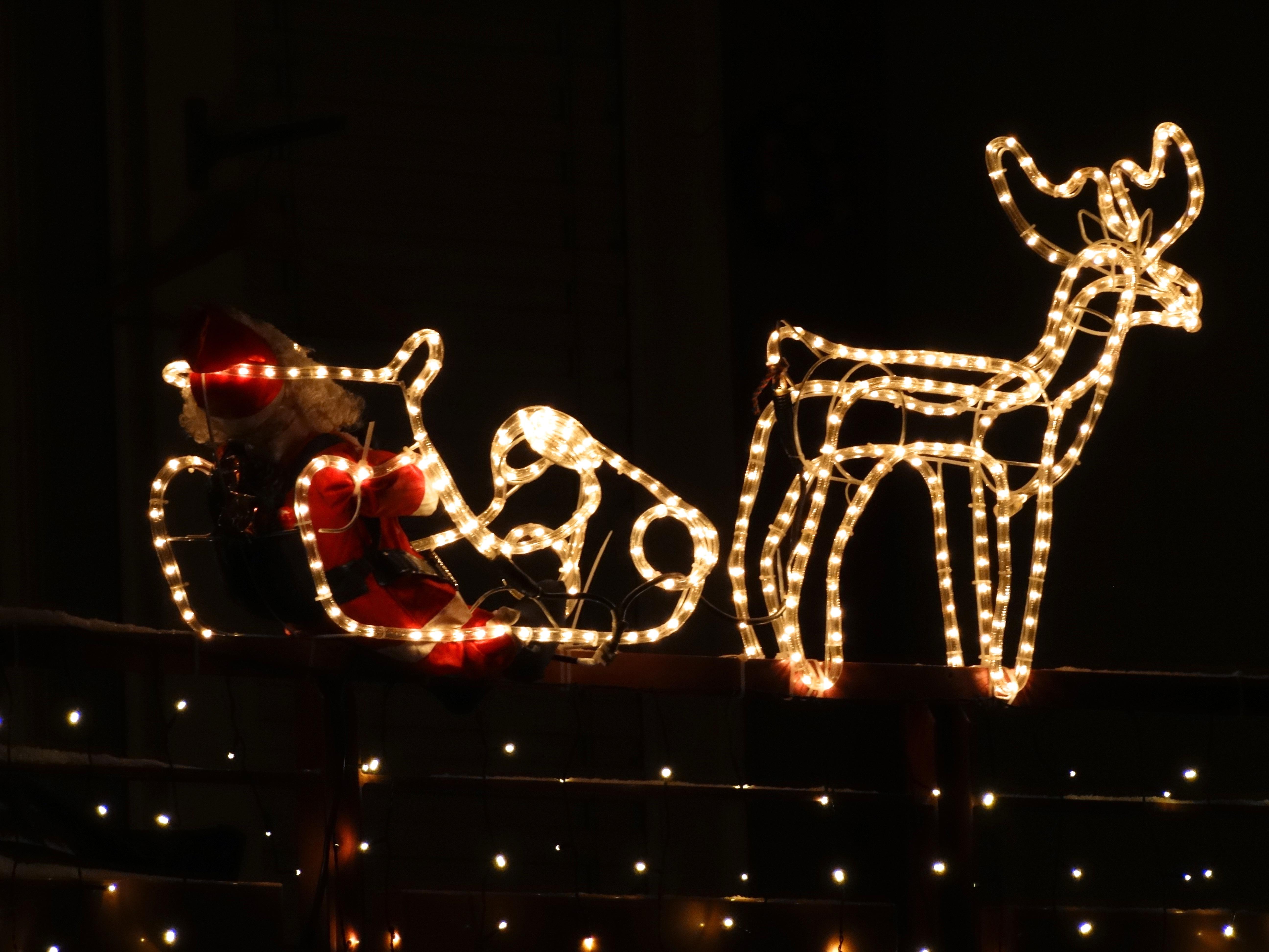 Kostenlose foto : Weihnachten, Santa, Weihnachtsdekoration, Rentier ...