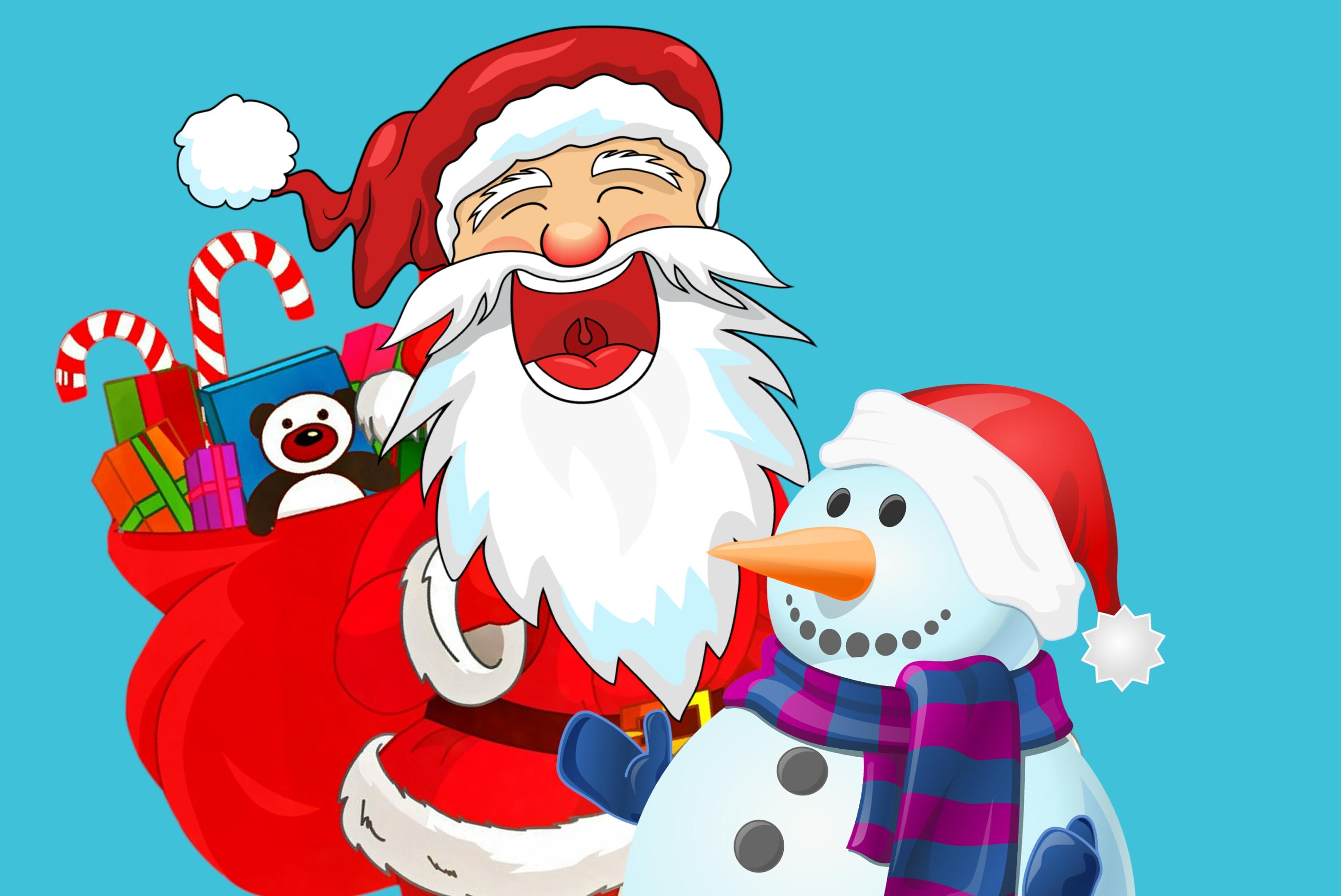Weihnachten Geschenke 2019.Kostenlose Foto Weihnachten Santa Iceman Geschenke Tasche