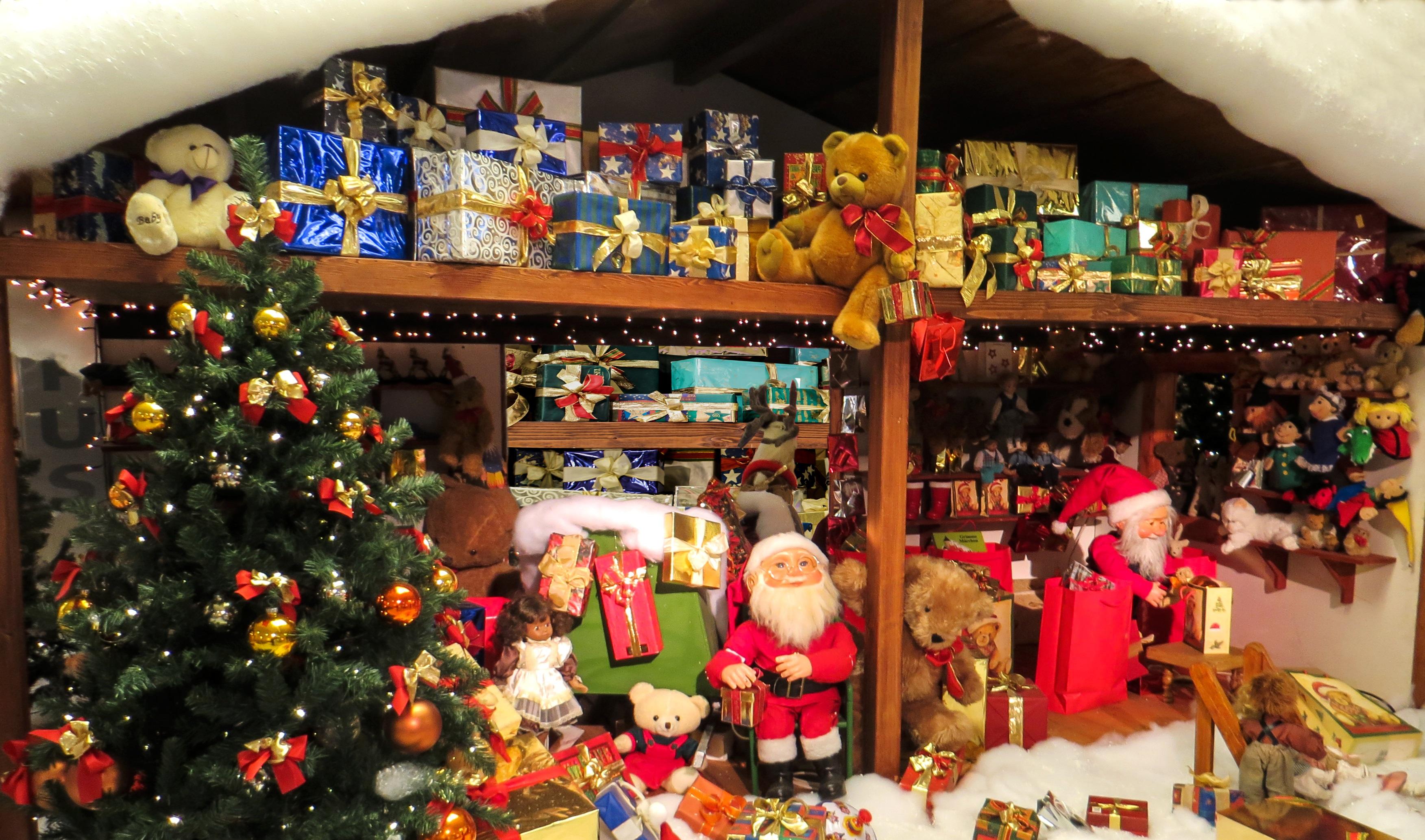 Fotos gratis juguete rbol de navidad decoraci n - Papa noel decoracion navidena ...