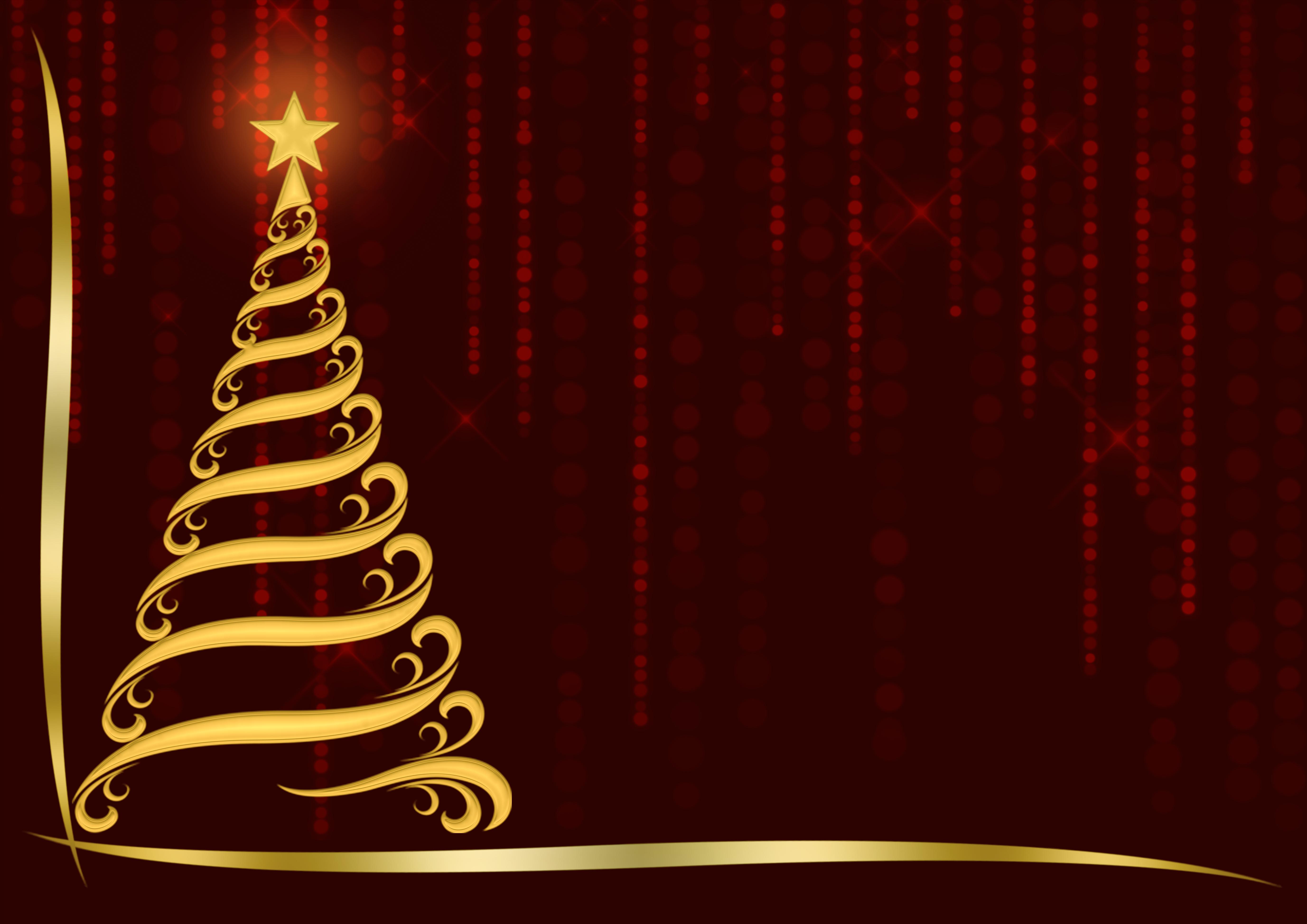Banco De Imagens árvore De Natal Ornamentado Desenhar Estrela