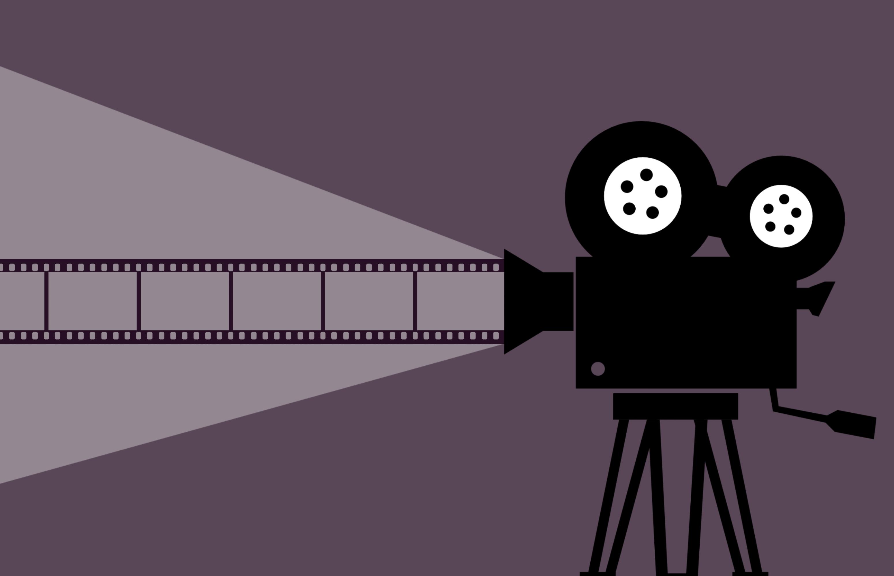 Gambar Bioskop Kamera Proyektor Video Klip Produksi