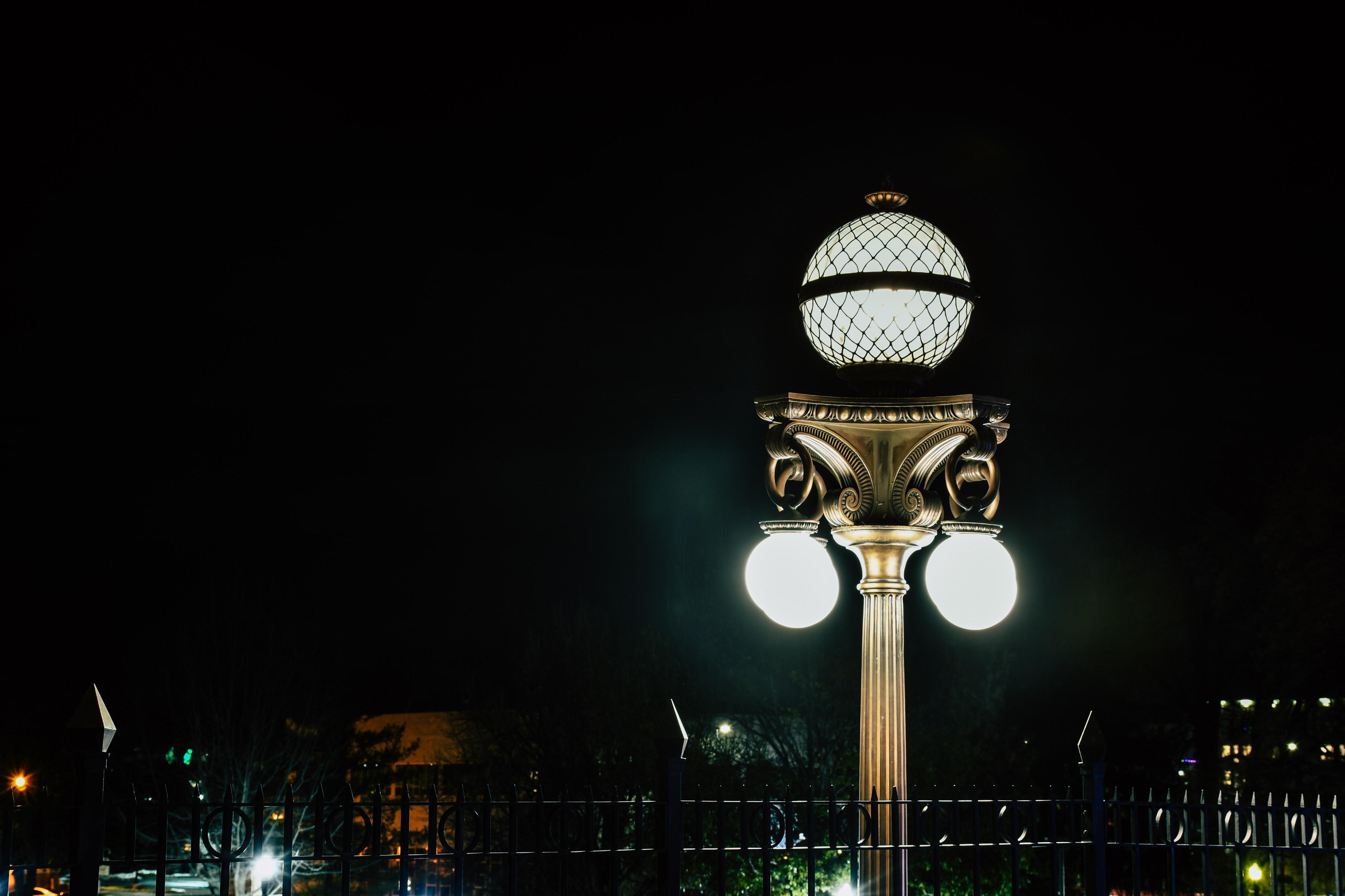 Images Gratuites Lumières De La Ville Foncé Soir