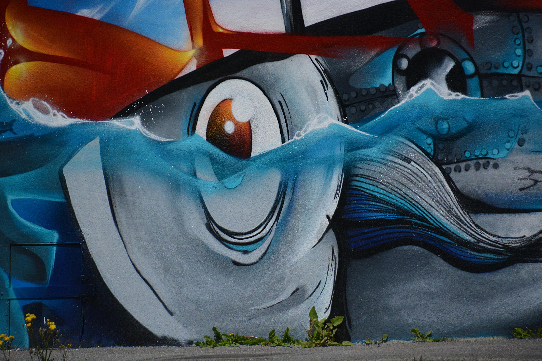 Fotos Gratis Ciudad Urbano Pared Color Artistico Azul - Paredes-pintadas-de-azul