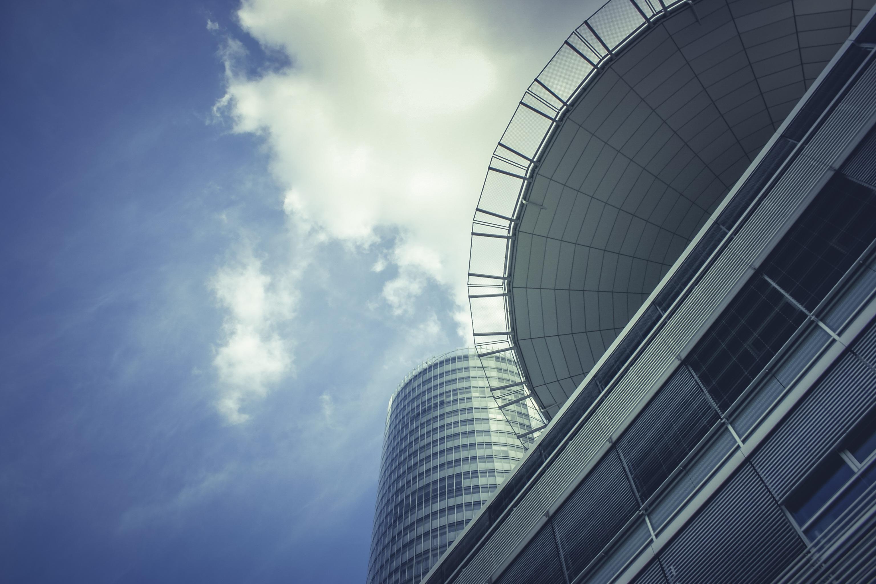 Images gratuites nuage architecture ciel lumière du soleil