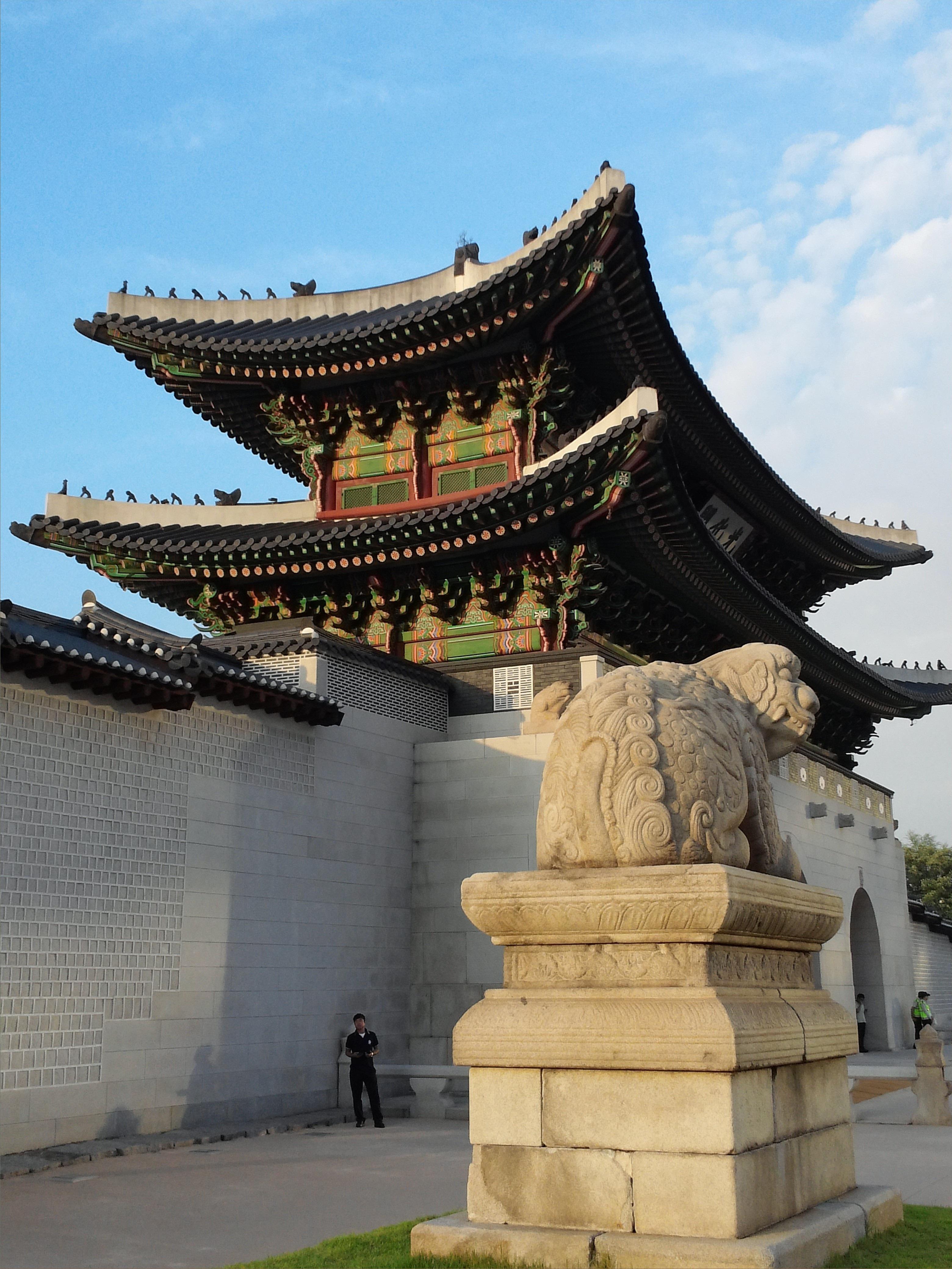 Tower Landmark Glow Tourism Place Of Worship Shrine Hatch Chinese Architecture Pagoda Seoul Forbidden City Old Fashioned Republic Korea