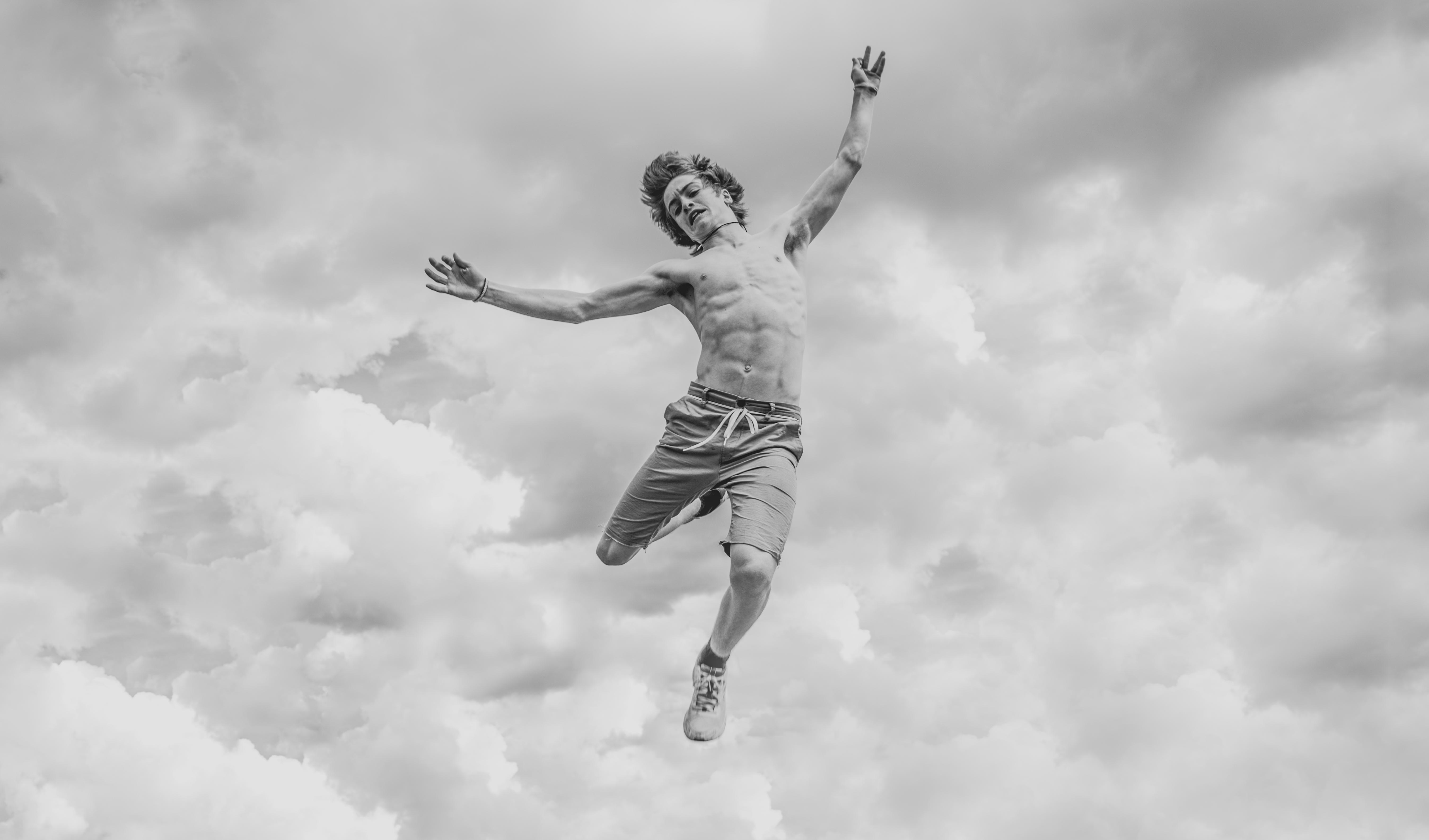 Kostenlose foto : Wolke, Schwarz und weiß, Himmel, Weiß, Springen ...