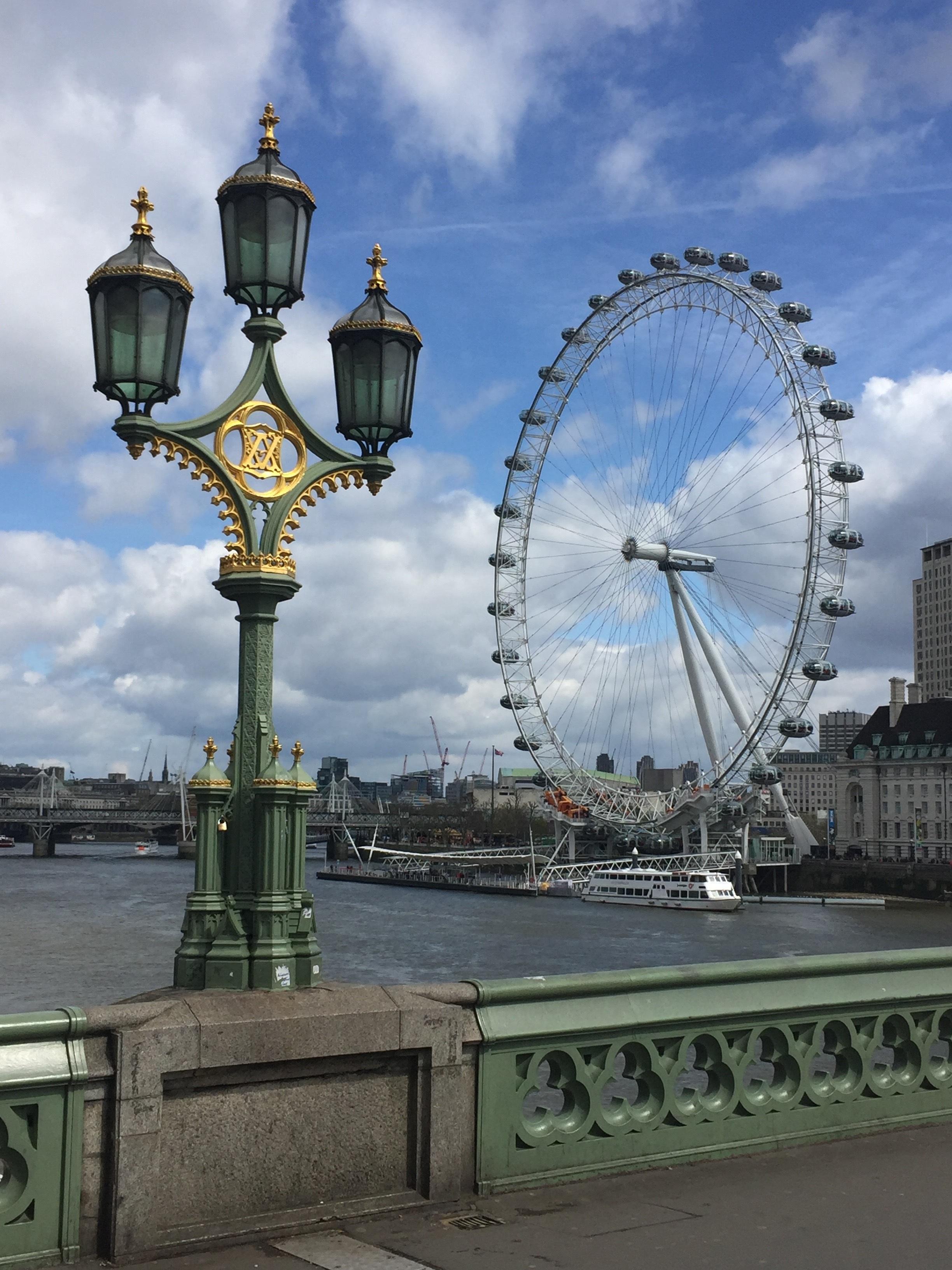 Kostenlose Foto Wolke Riesenrad Freizeitpark Turm Park London