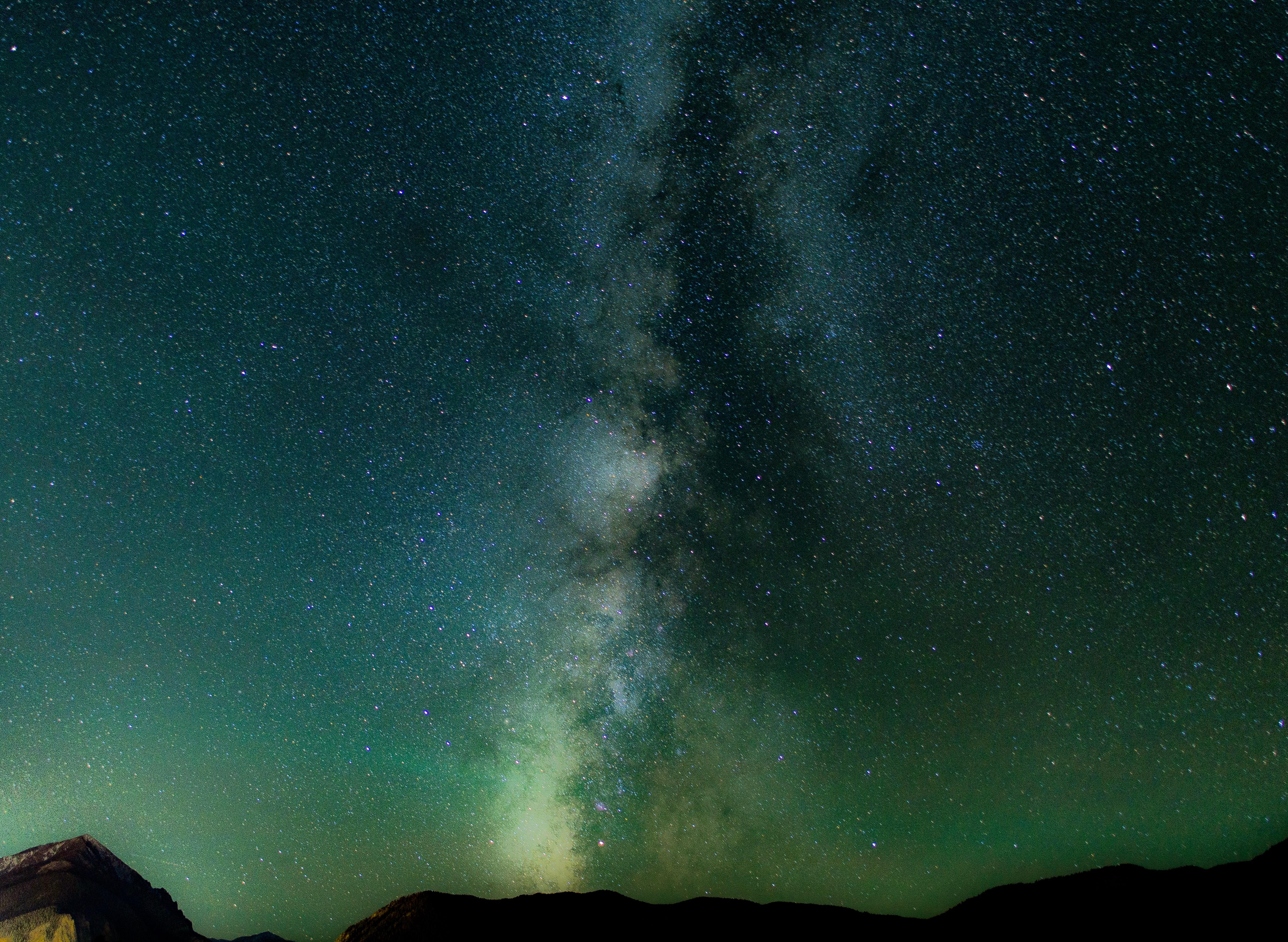фото млечного пути на небе медицинский