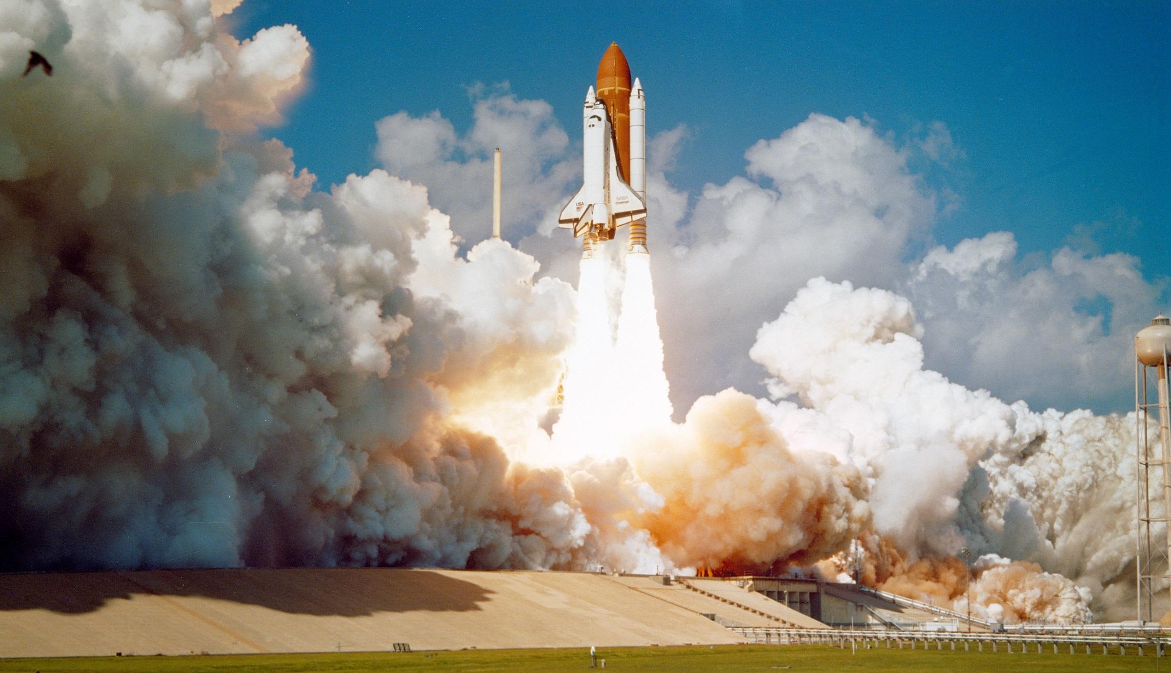 nasa space shuttle landing on earth - photo #46