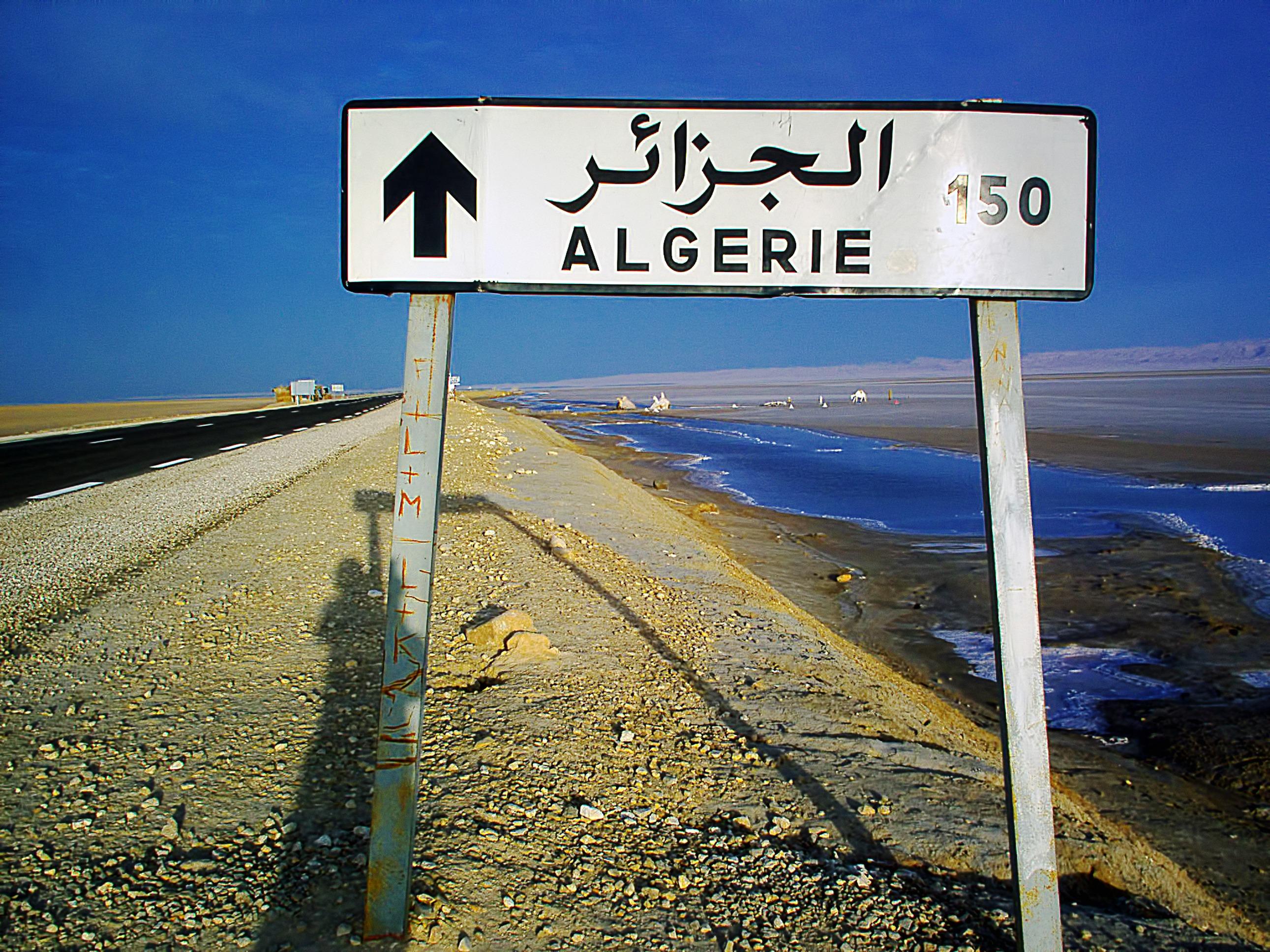 voyage algerie tunisie par route